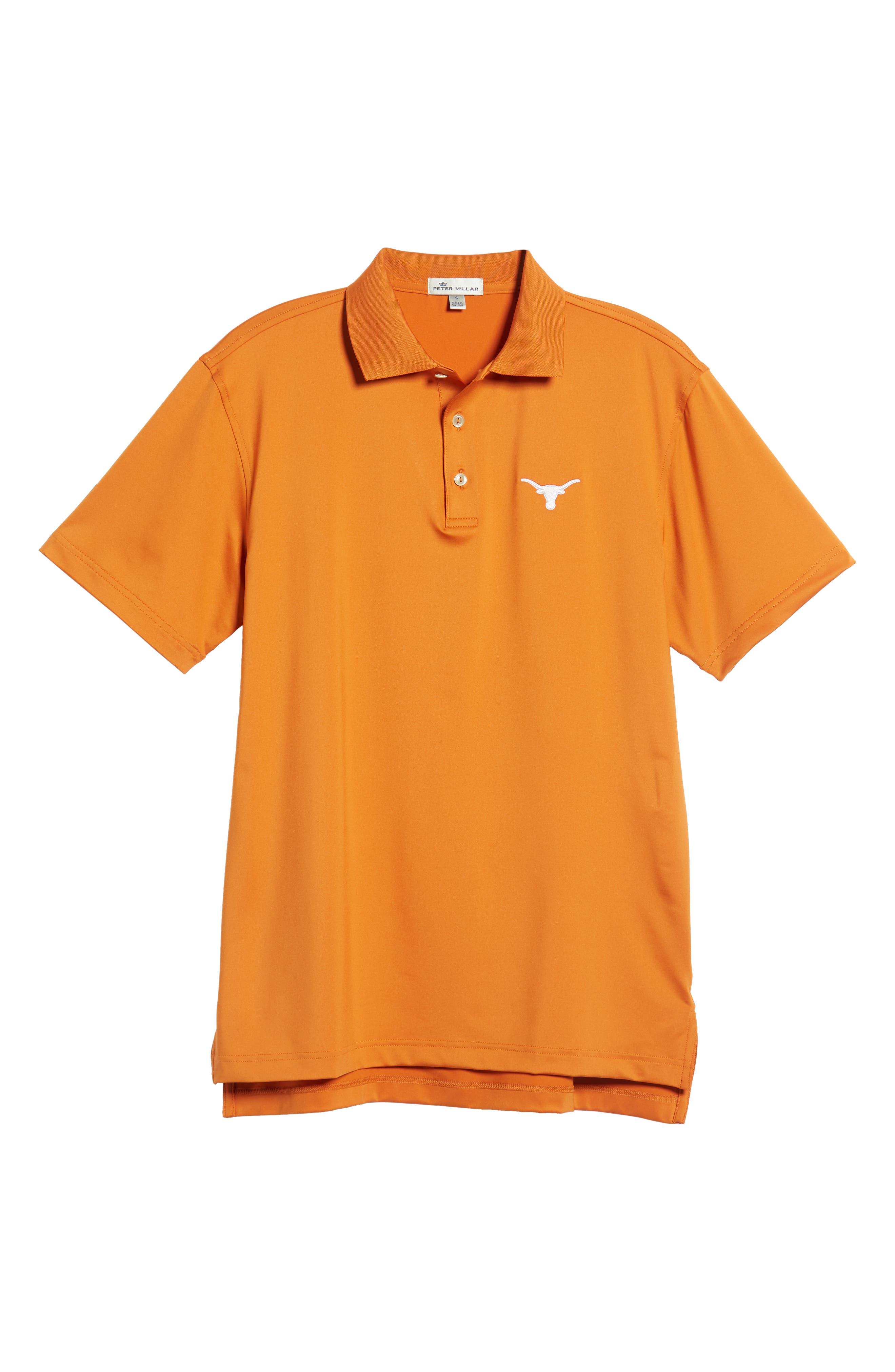 Texas Solid Performance Polo Shirt,                             Alternate thumbnail 6, color,                             600