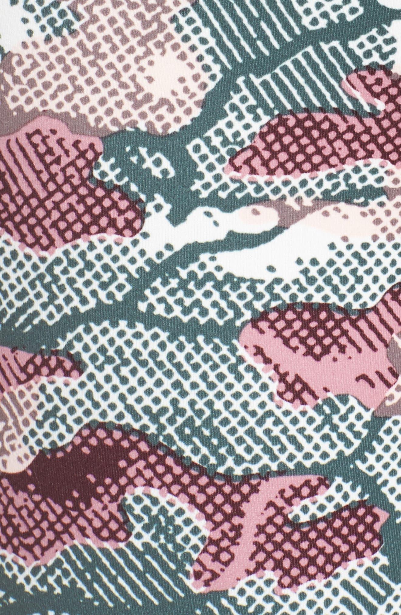 'Hatha' High Waist Crop Leggings,                             Alternate thumbnail 111, color,