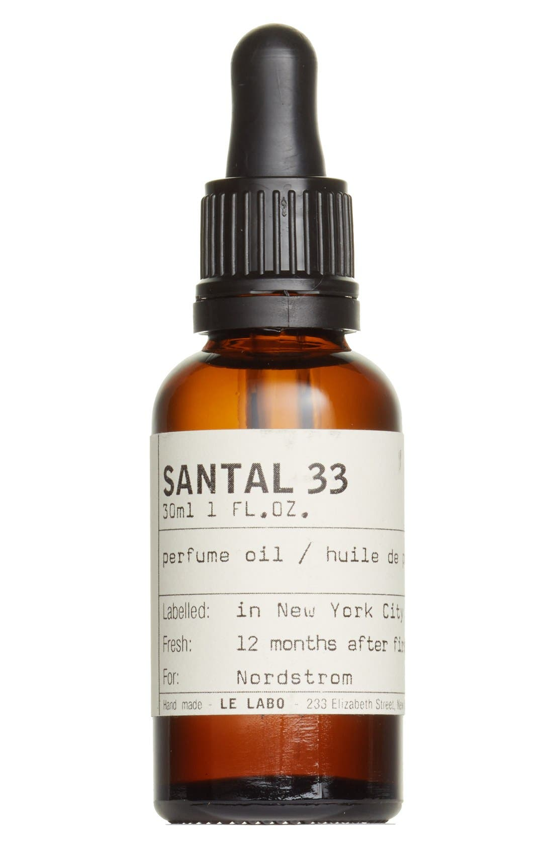 'Santal 33' Perfume Oil,                             Main thumbnail 1, color,                             NO COLOR