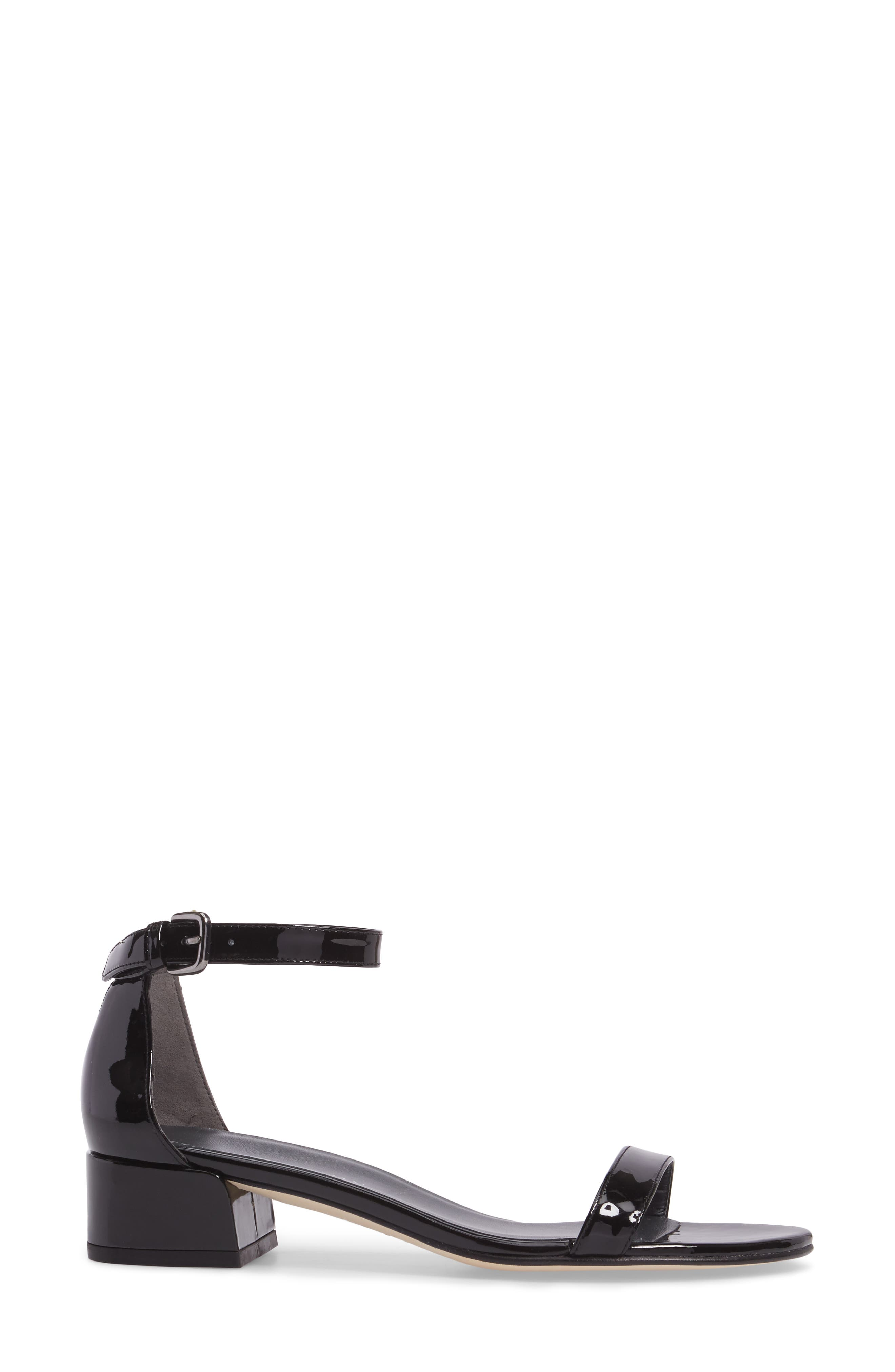 NudistJune Block Heel Sandal,                             Alternate thumbnail 3, color,                             002