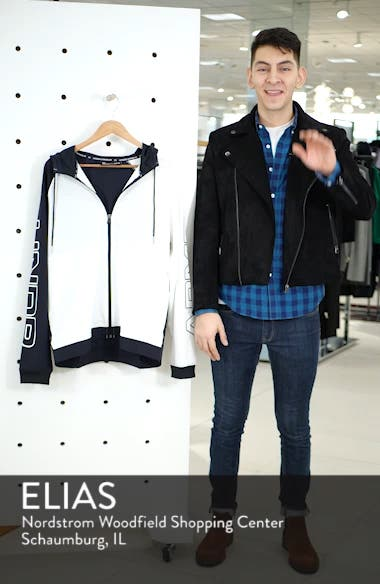 Baseline Hooded Jacket, sales video thumbnail