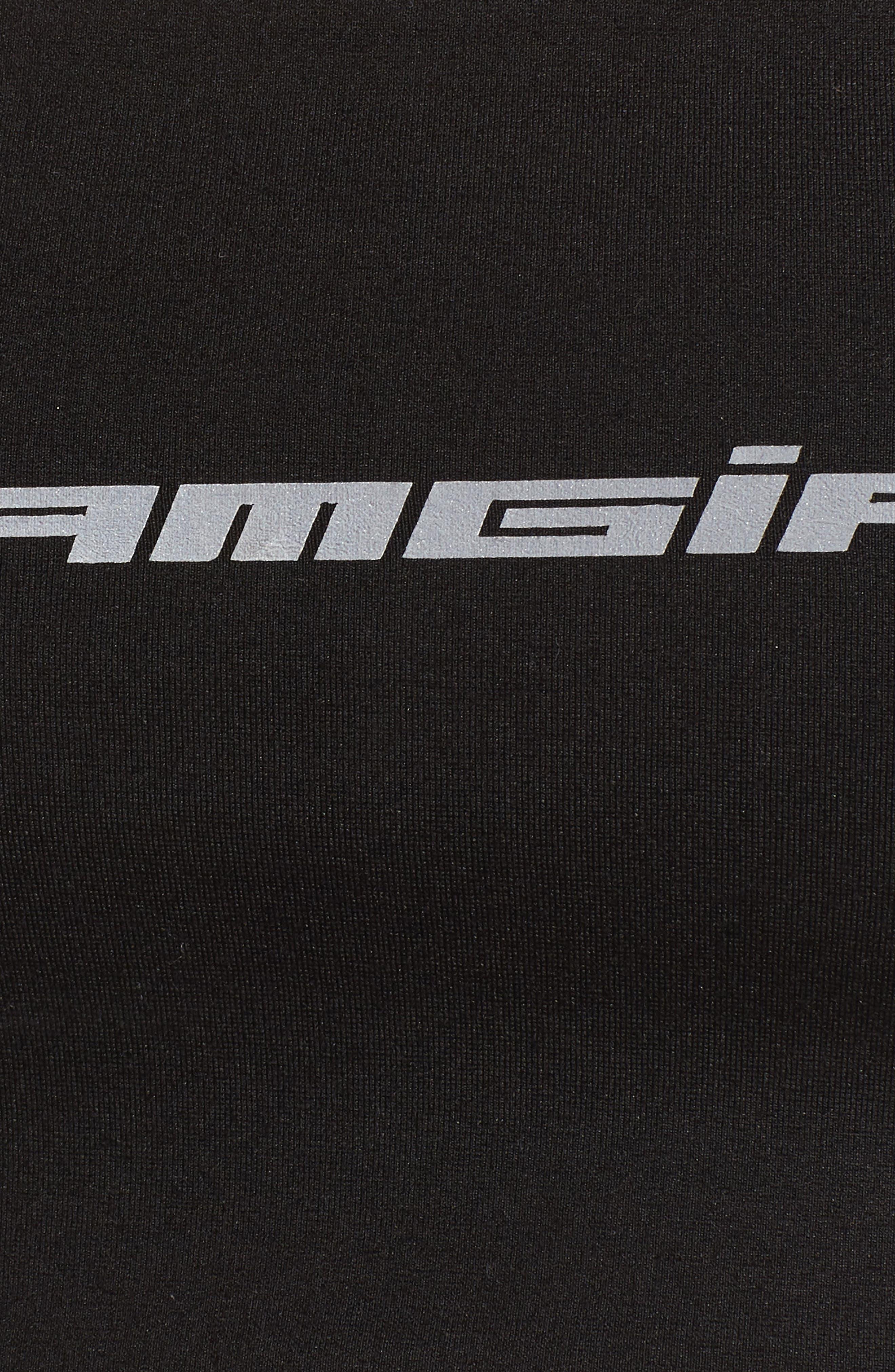 I.AM.GIA Army Bandeau Sports Bra,                             Alternate thumbnail 6, color,                             001