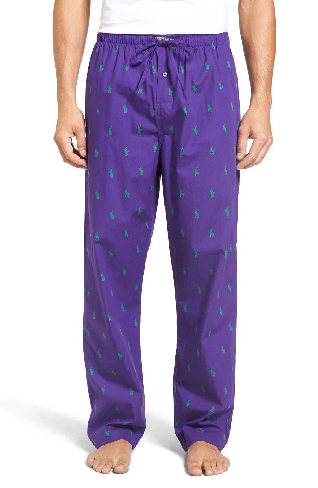 Cotton Lounge Pants,                             Main thumbnail 9, color,