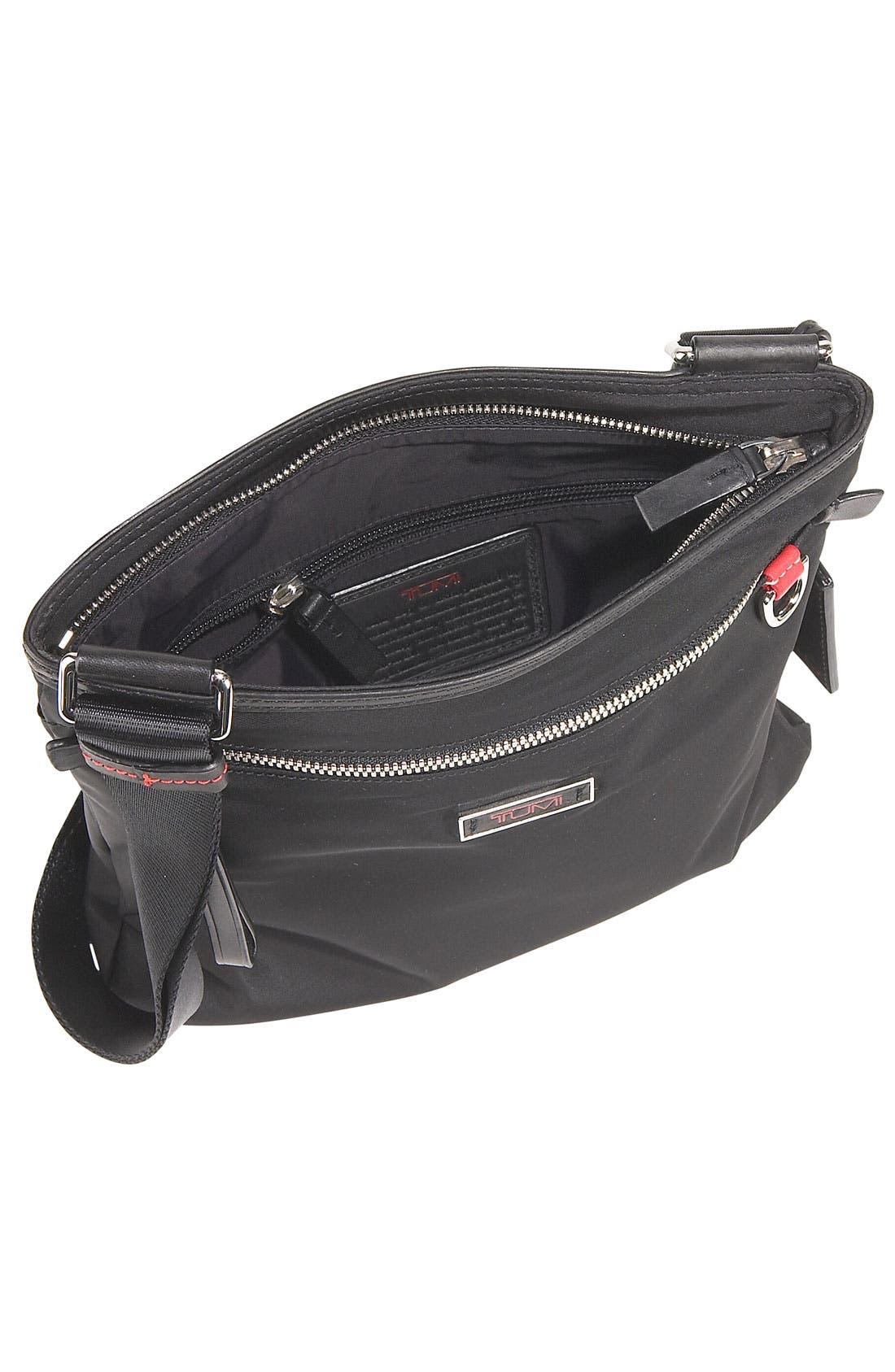 'Voyager - Capri' Crossbody Bag,                             Alternate thumbnail 5, color,                             001