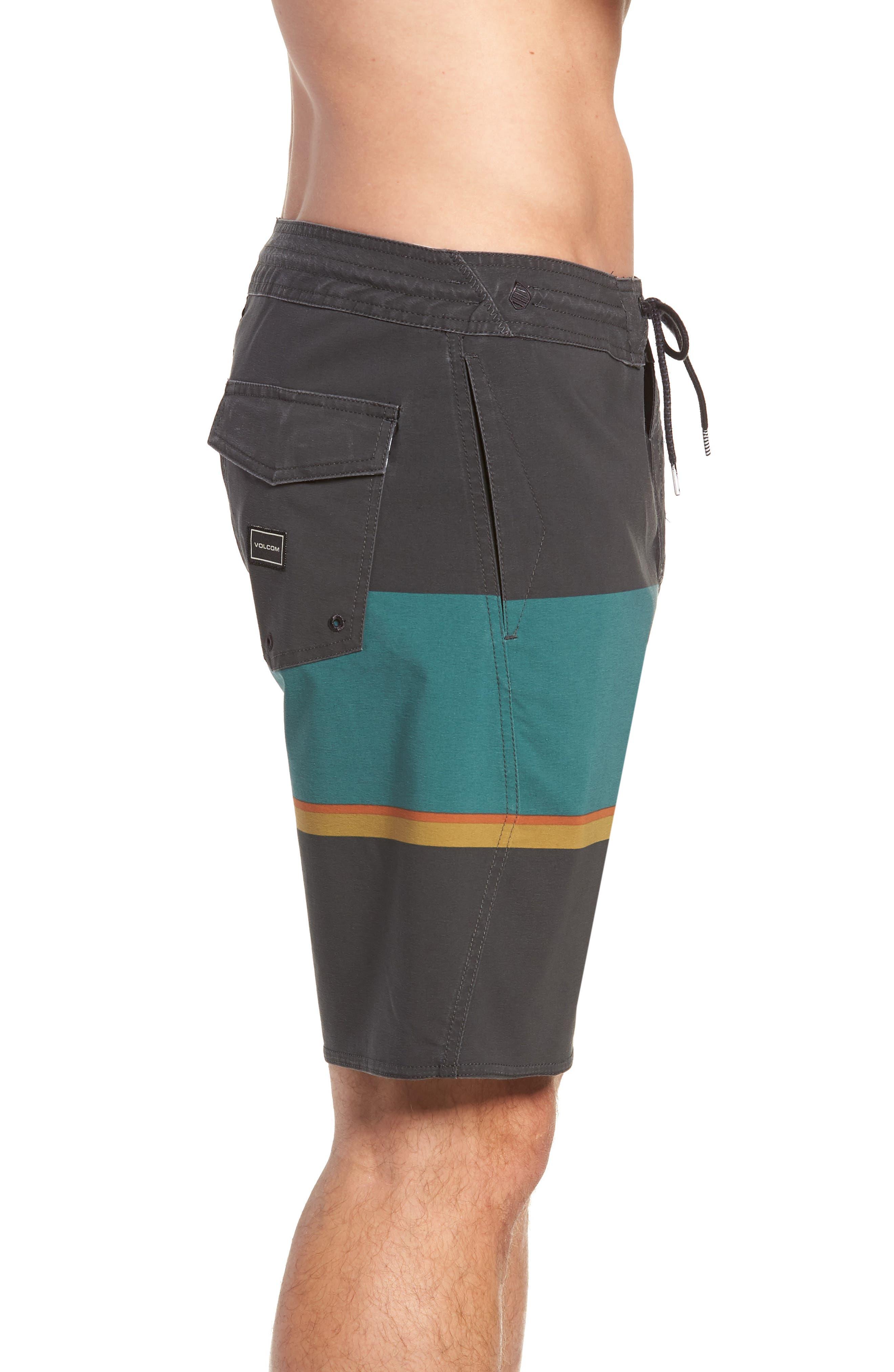 VOLCOM,                             3 Quarta Stoney Board Shorts,                             Alternate thumbnail 4, color,                             366