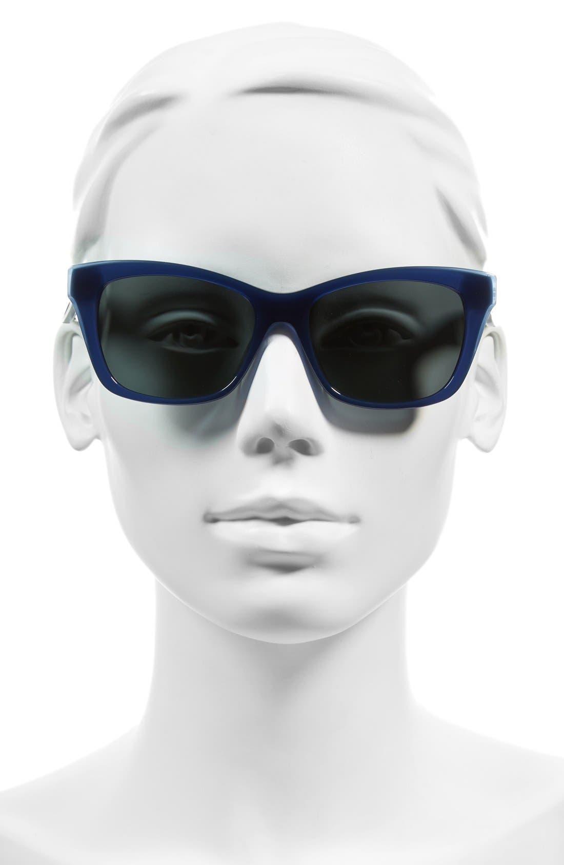 jenae 53mm polarized sunglasses,                             Alternate thumbnail 7, color,
