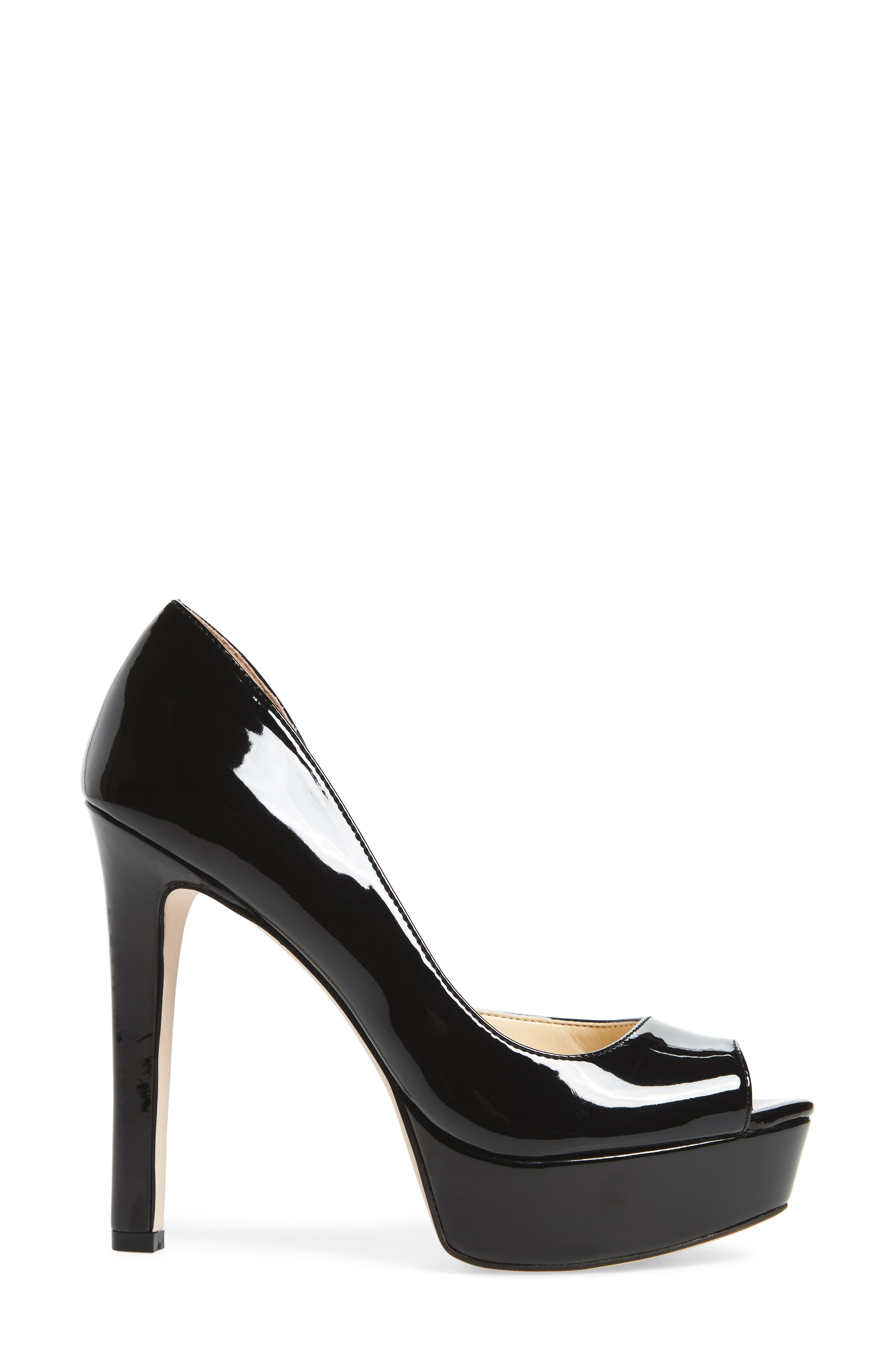 Martella Platform Pump,                             Alternate thumbnail 3, color,                             001