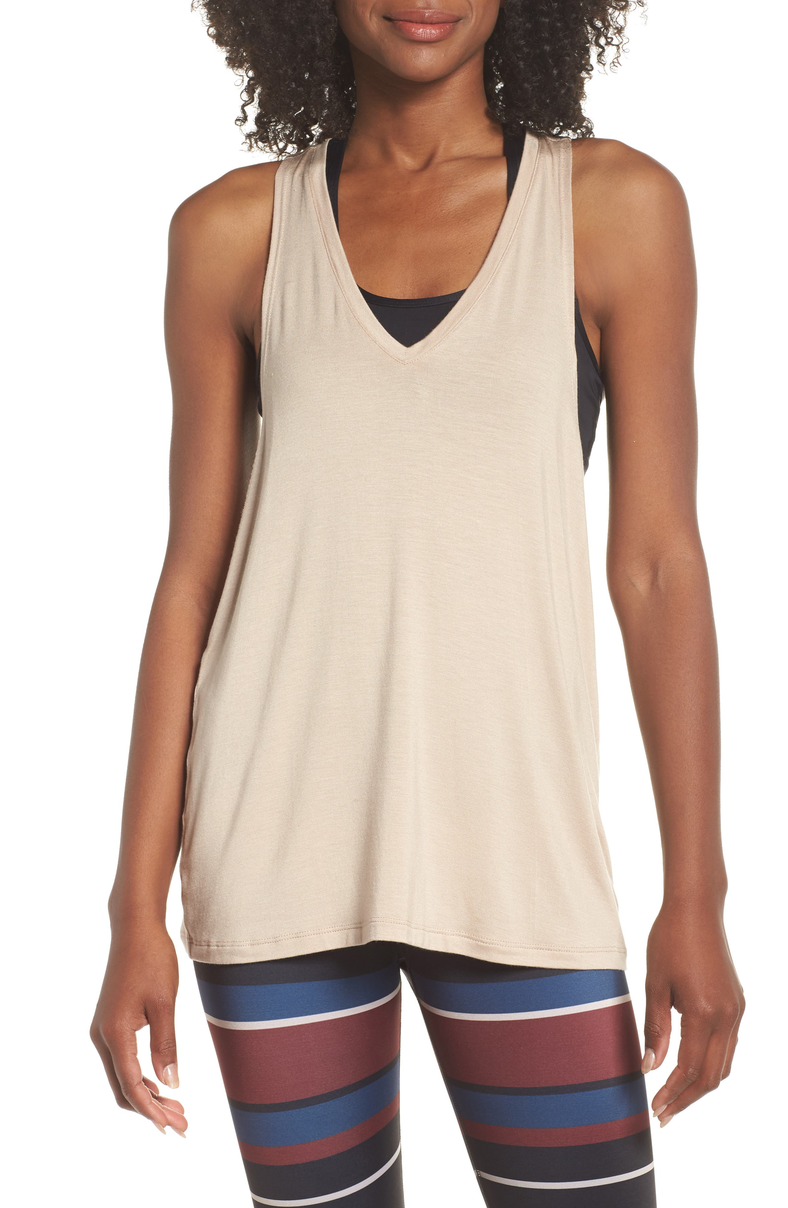 Twisted Racerback Tank,                         Main,                         color, 252