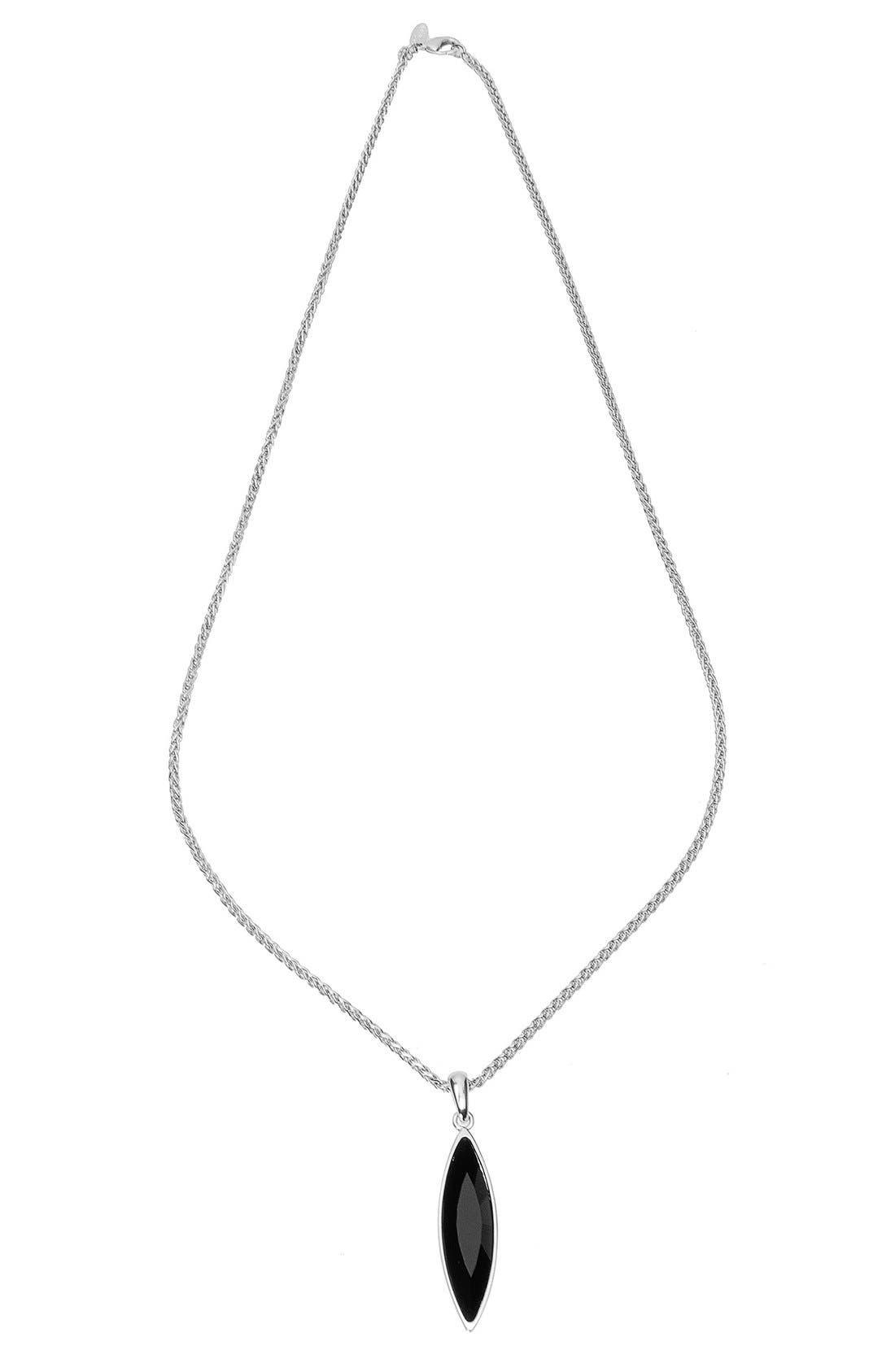 'Eva' Marquis Crystal Pendant Necklace,                             Alternate thumbnail 2, color,                             001
