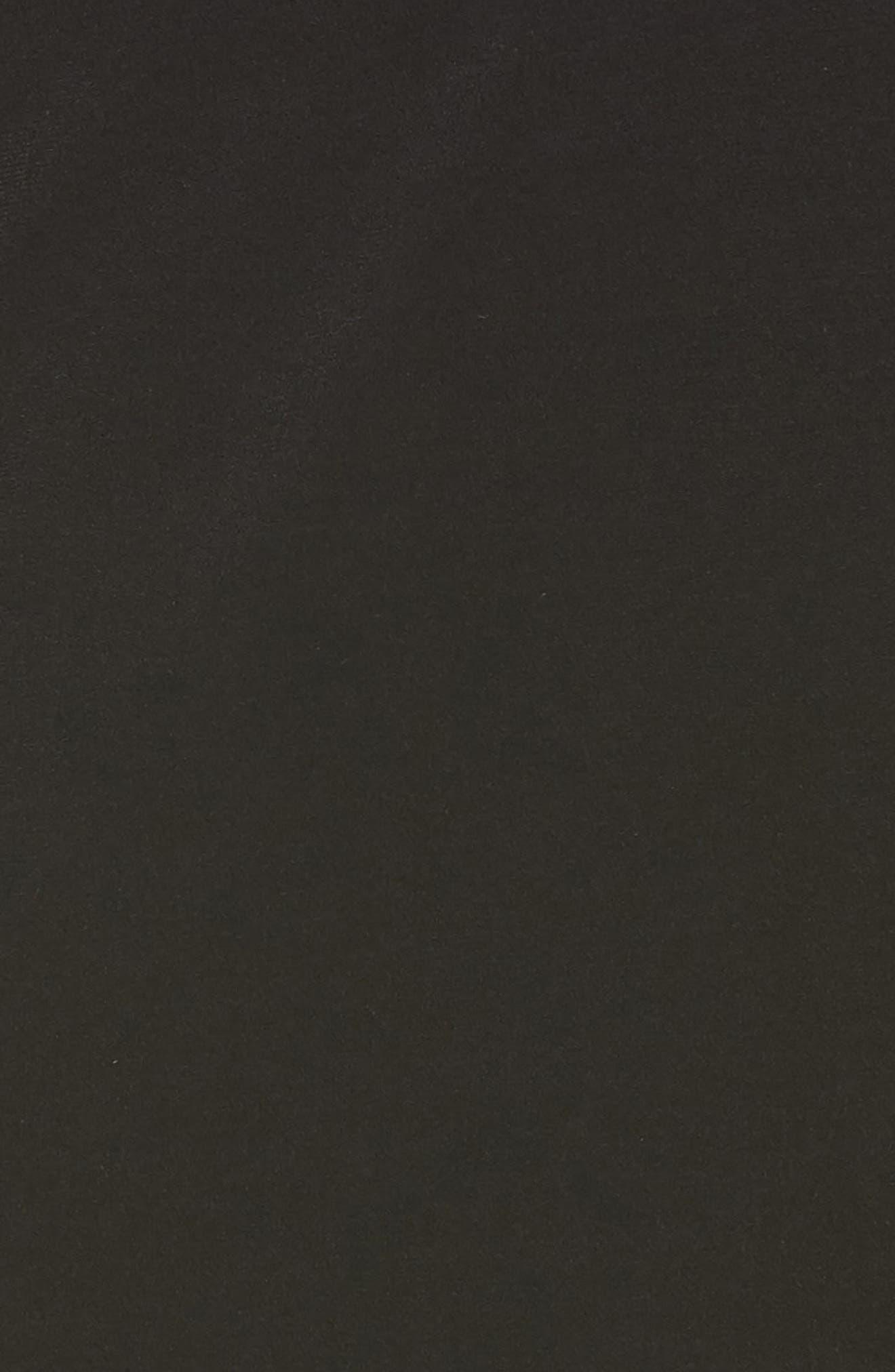 MICHAEL MICHAEL KORS,                             Lace Inset Bell Sleeve Shift Dress,                             Alternate thumbnail 6, color,                             001