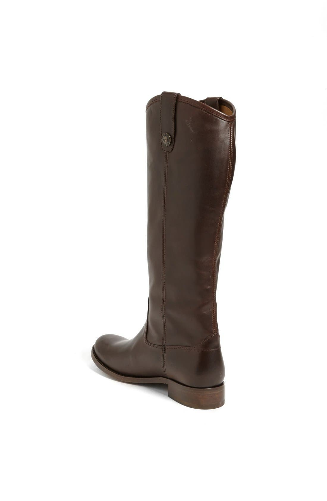 'Melissa Button' Leather Riding Boot,                             Alternate thumbnail 111, color,