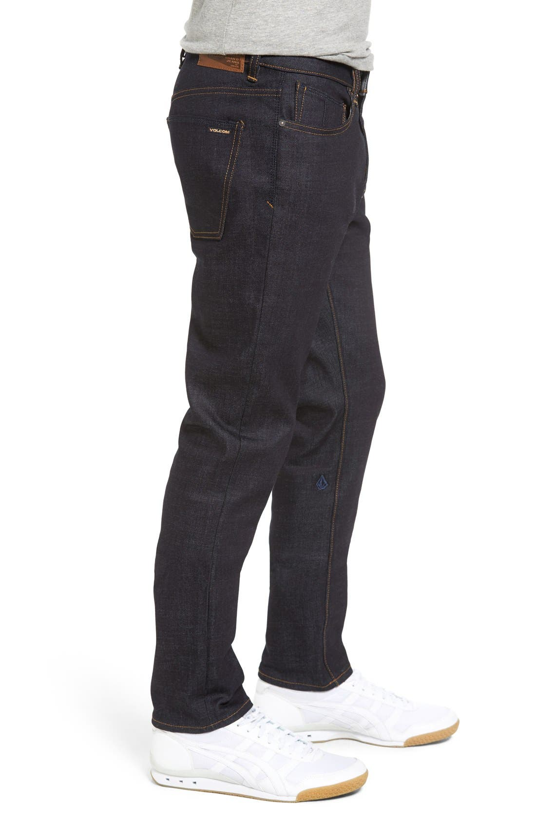 'Solver' Tapered Jeans,                             Alternate thumbnail 8, color,