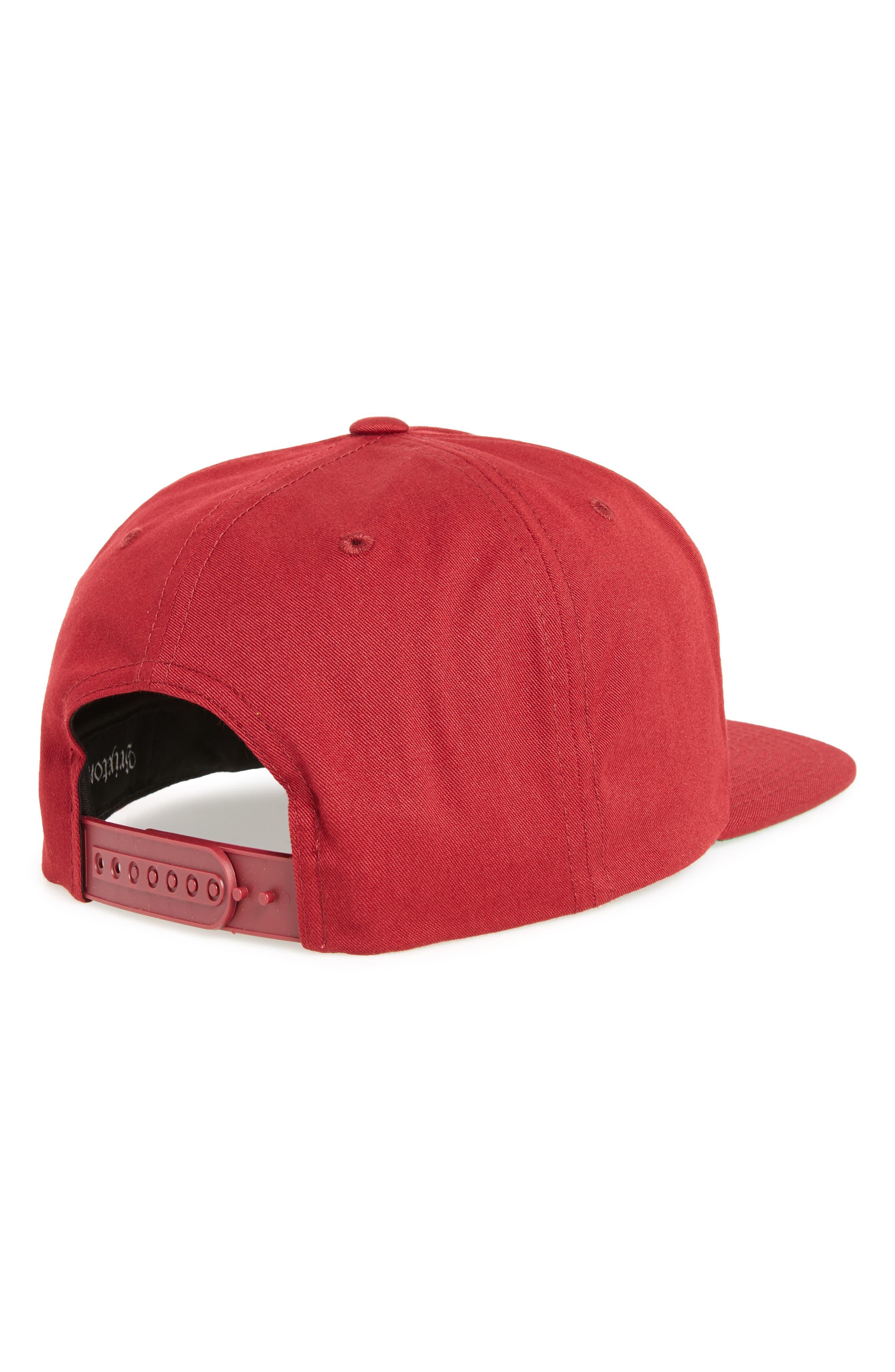 Snapback Baseball Cap,                             Alternate thumbnail 4, color,