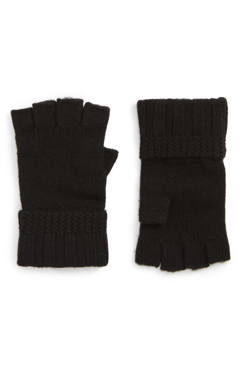 UGG® Texture Knit Fingerless Gloves | Nordstrom