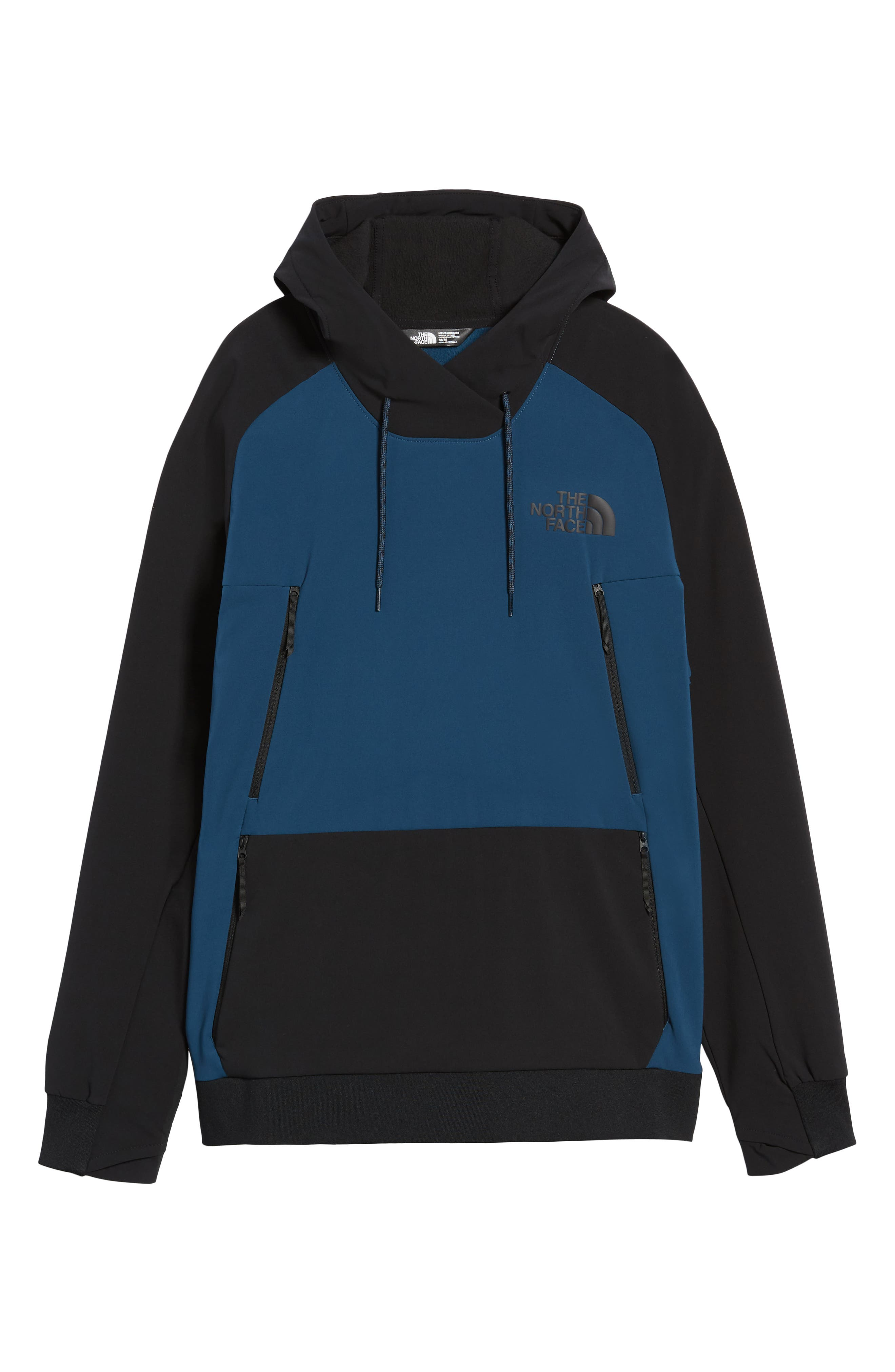Tekno Pullover Hoodie,                             Alternate thumbnail 7, color,                             BLUE WING TEAL/ TNF BLACK