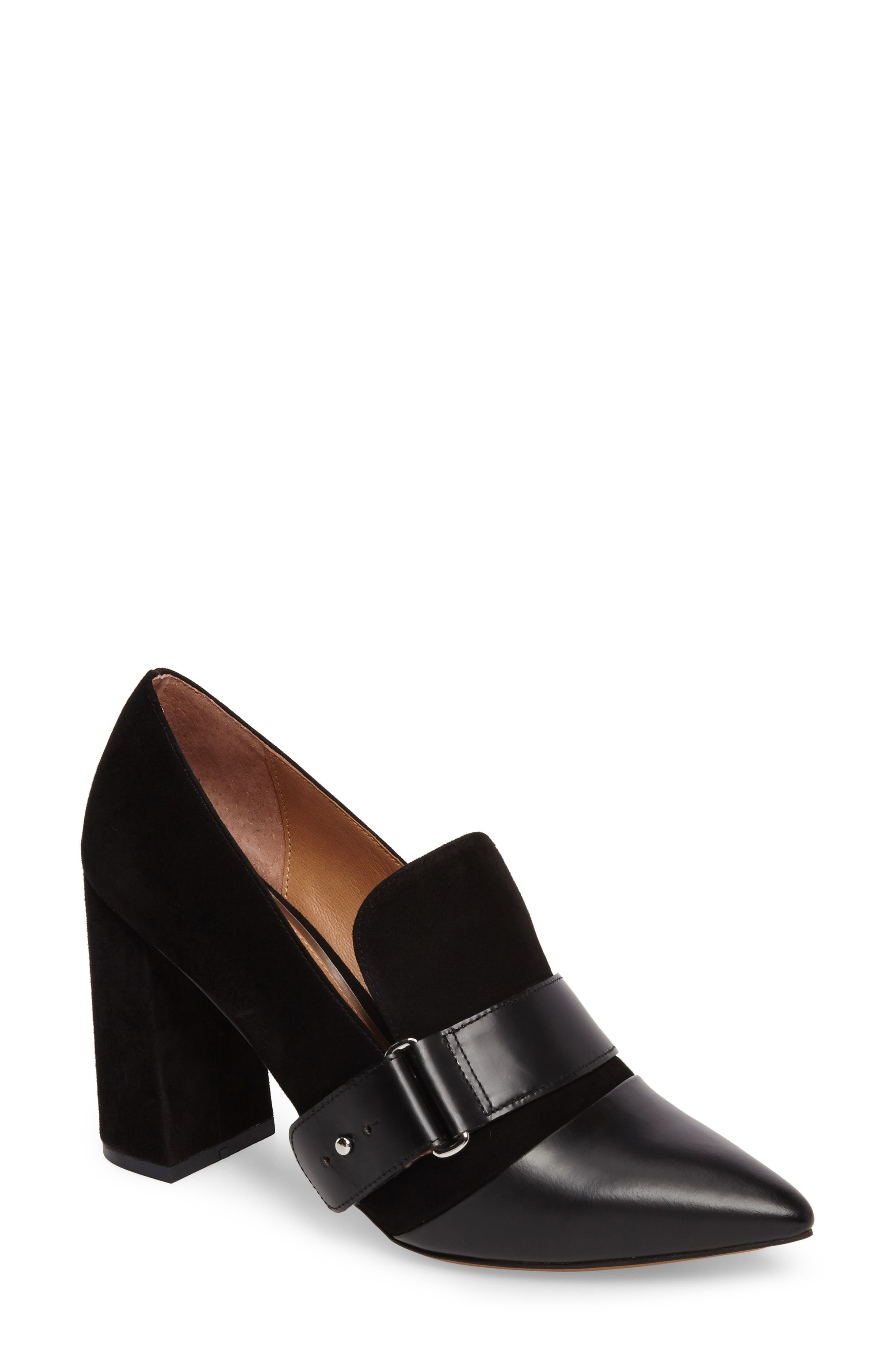 Casidy Buckle Pump,                             Main thumbnail 1, color,                             001