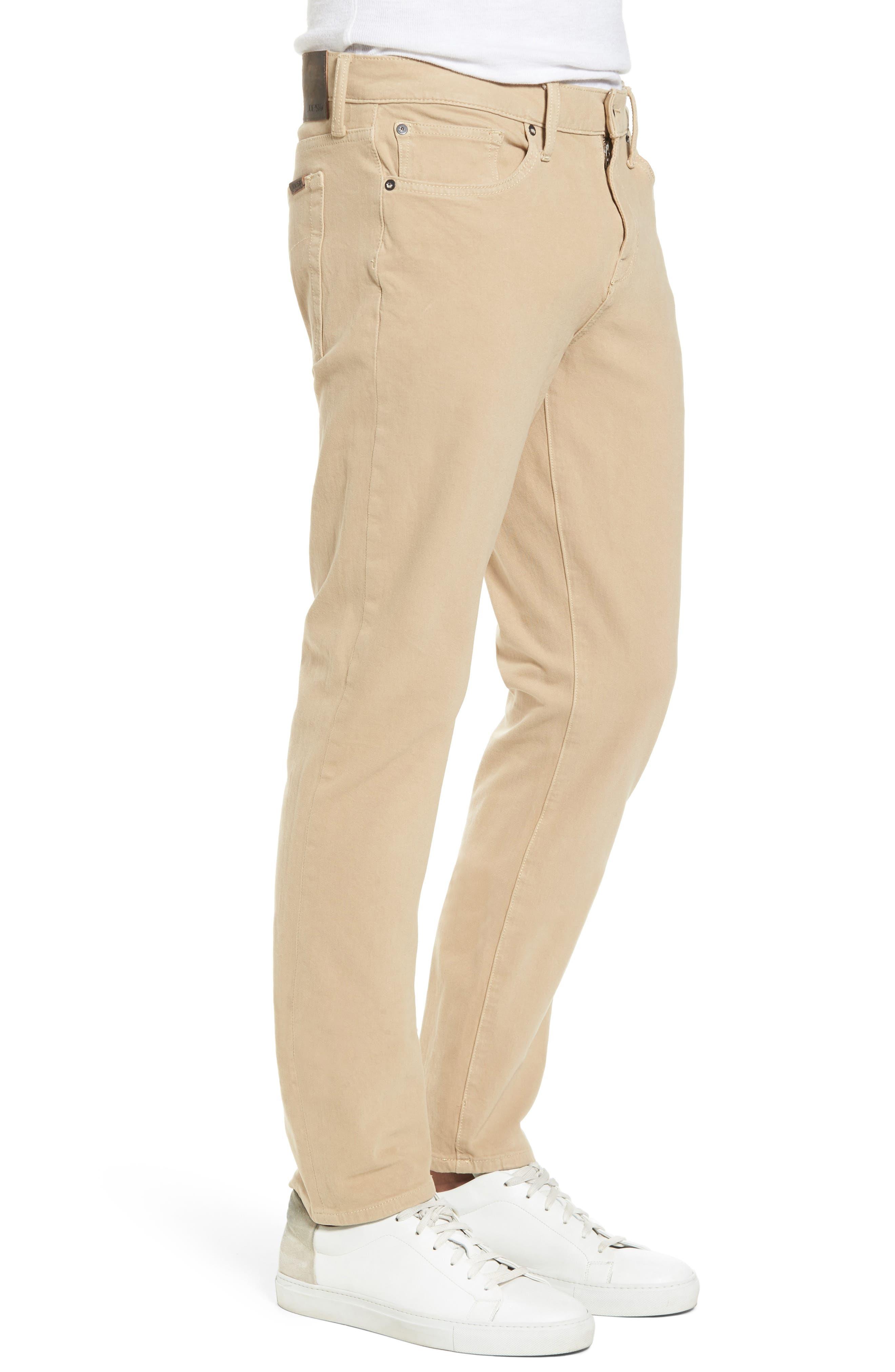 JOE'S,                             Kinetic Slim Fit Jeans,                             Alternate thumbnail 3, color,                             SAND
