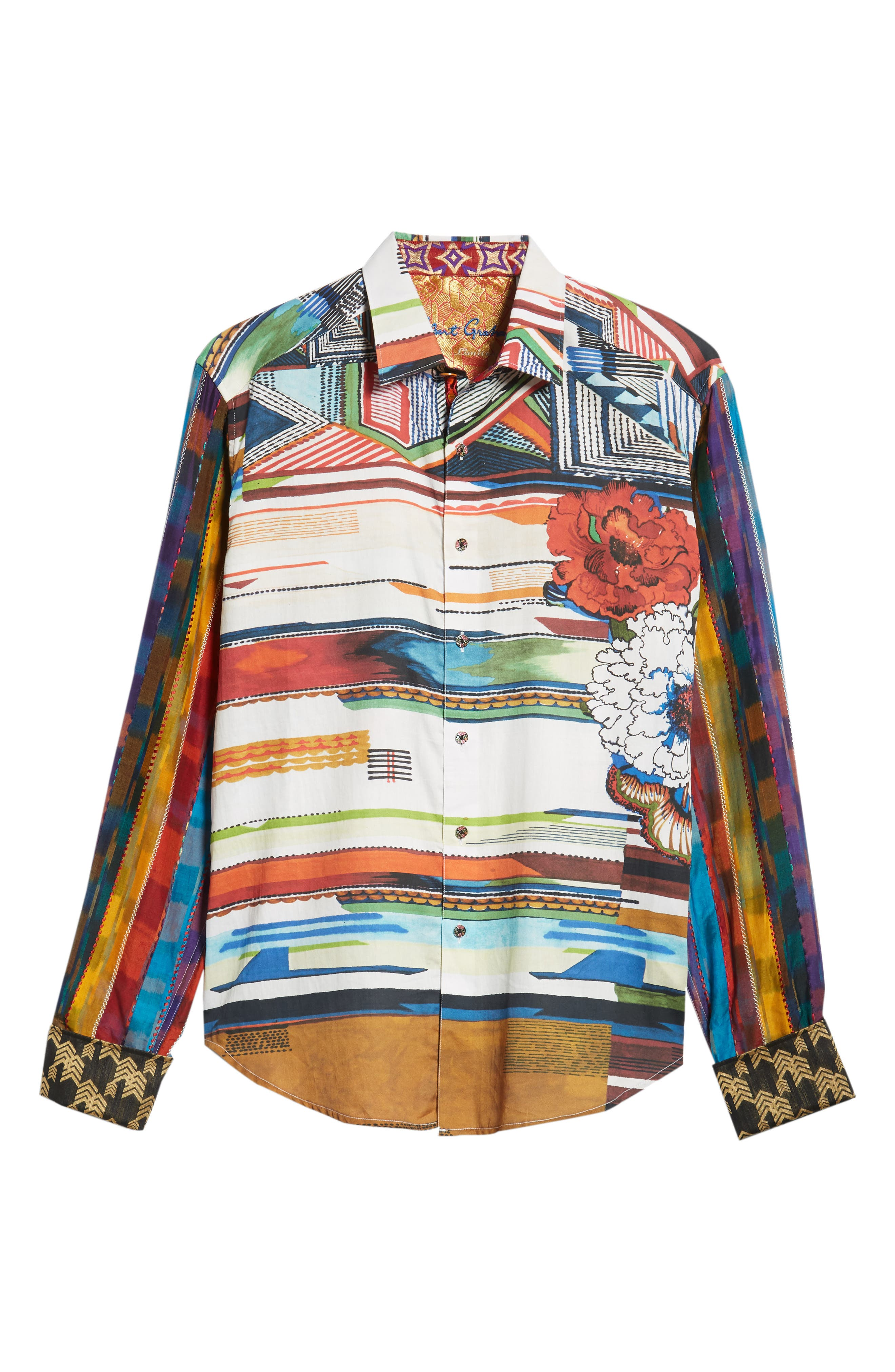 Nachostrong Limited Edition Classic Fit Sport Shirt,                             Alternate thumbnail 5, color,                             MULTI