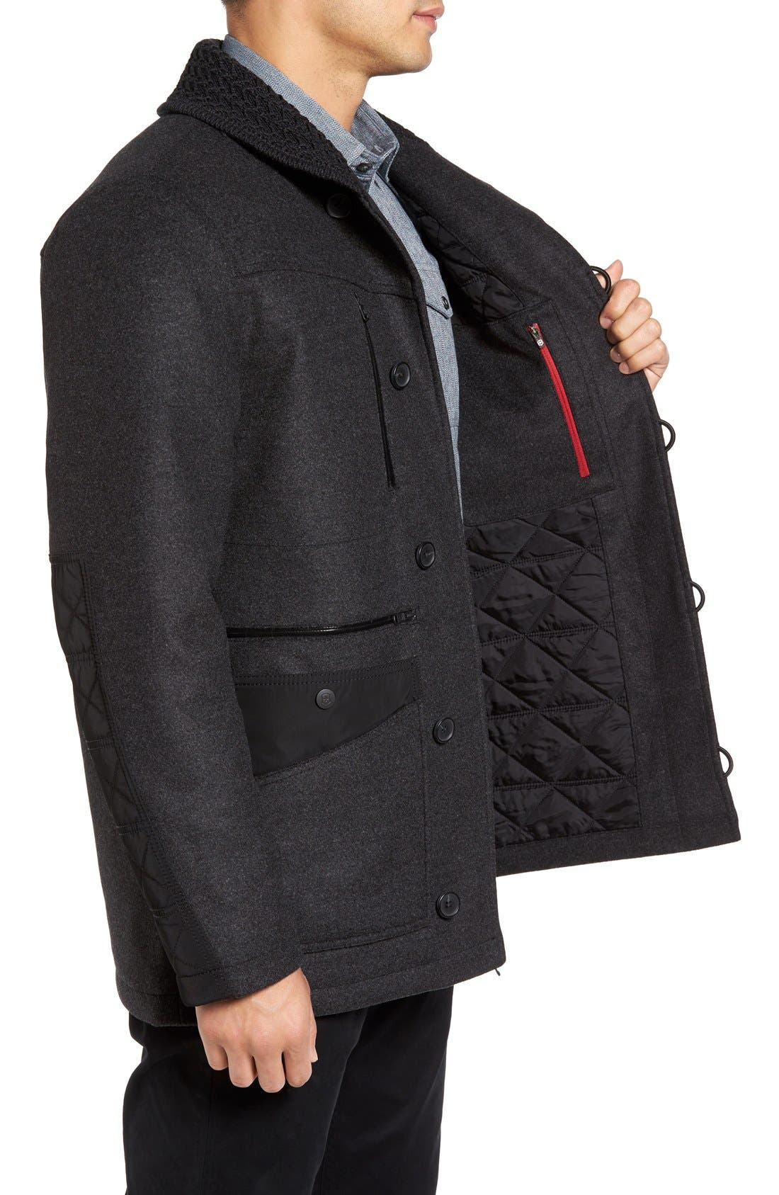 VICTORINOX SWISS ARMY<SUP>®</SUP>,                             Masonry Limited Edition Wool Blend Coat,                             Alternate thumbnail 2, color,                             062
