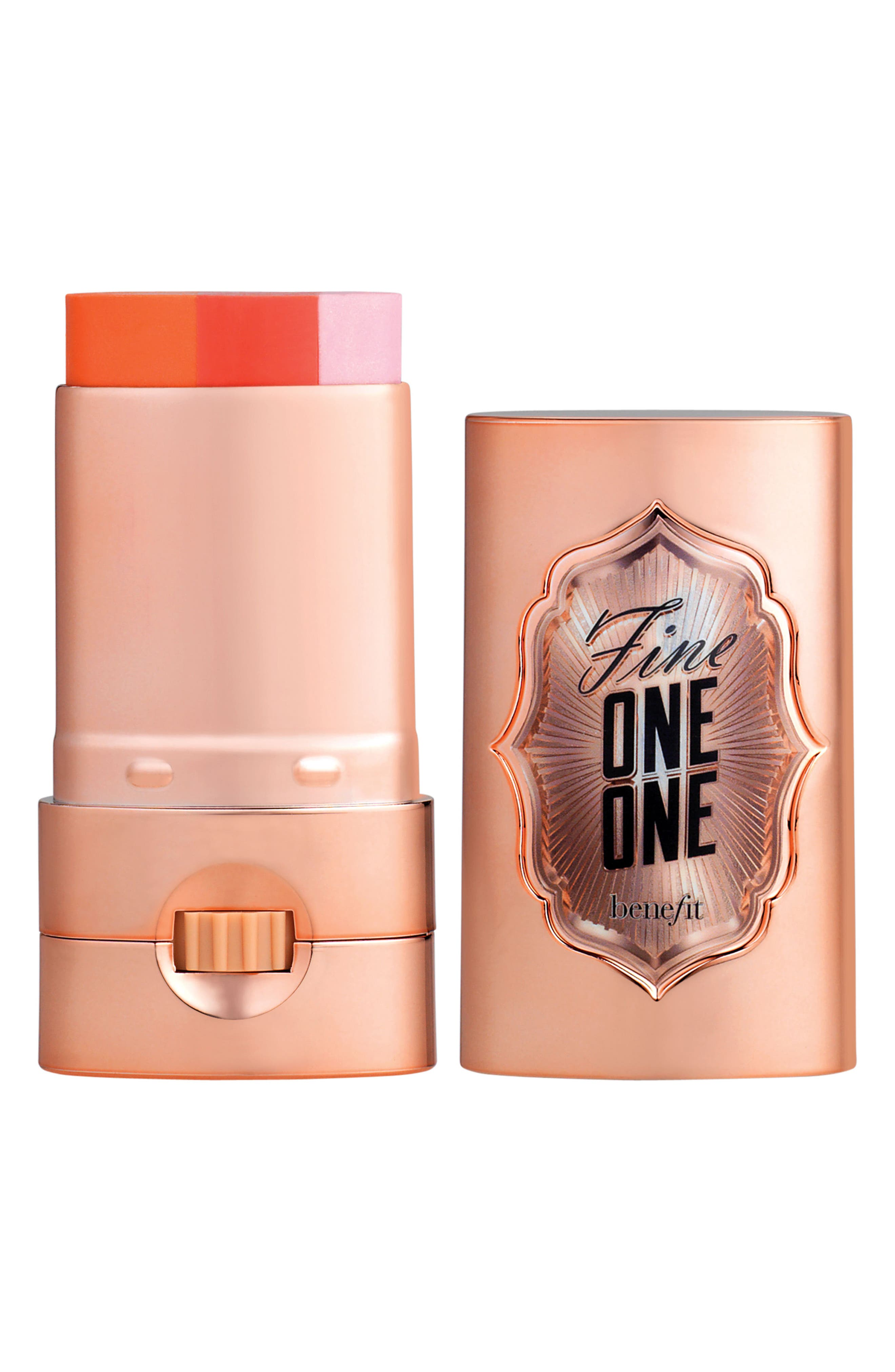 Benefit Fine-One-One Brightening Color for Cheeks & Lips,                             Main thumbnail 1, color,                             CORAL