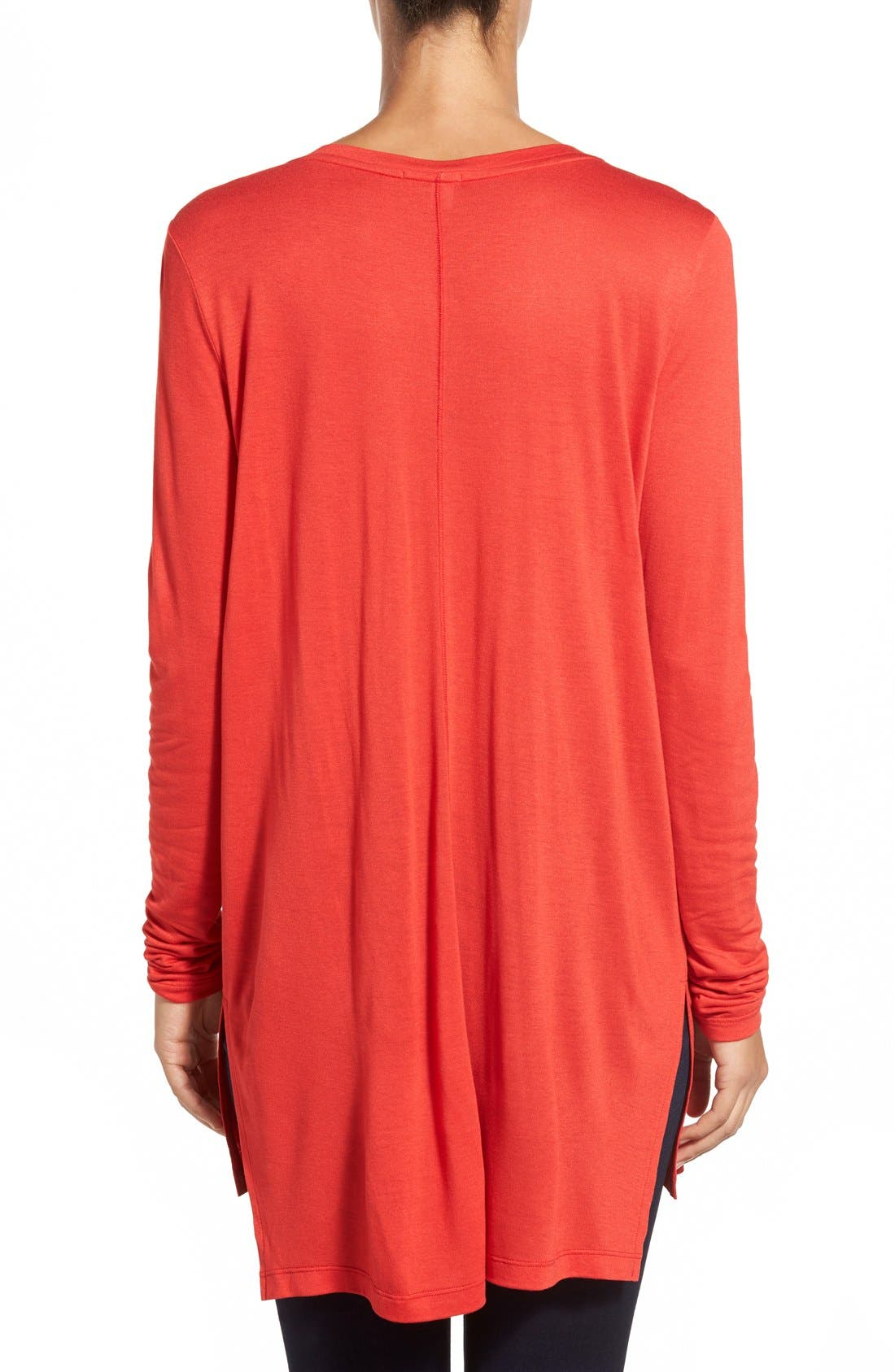 Long Sleeve Lightweight Tunic,                             Alternate thumbnail 29, color,