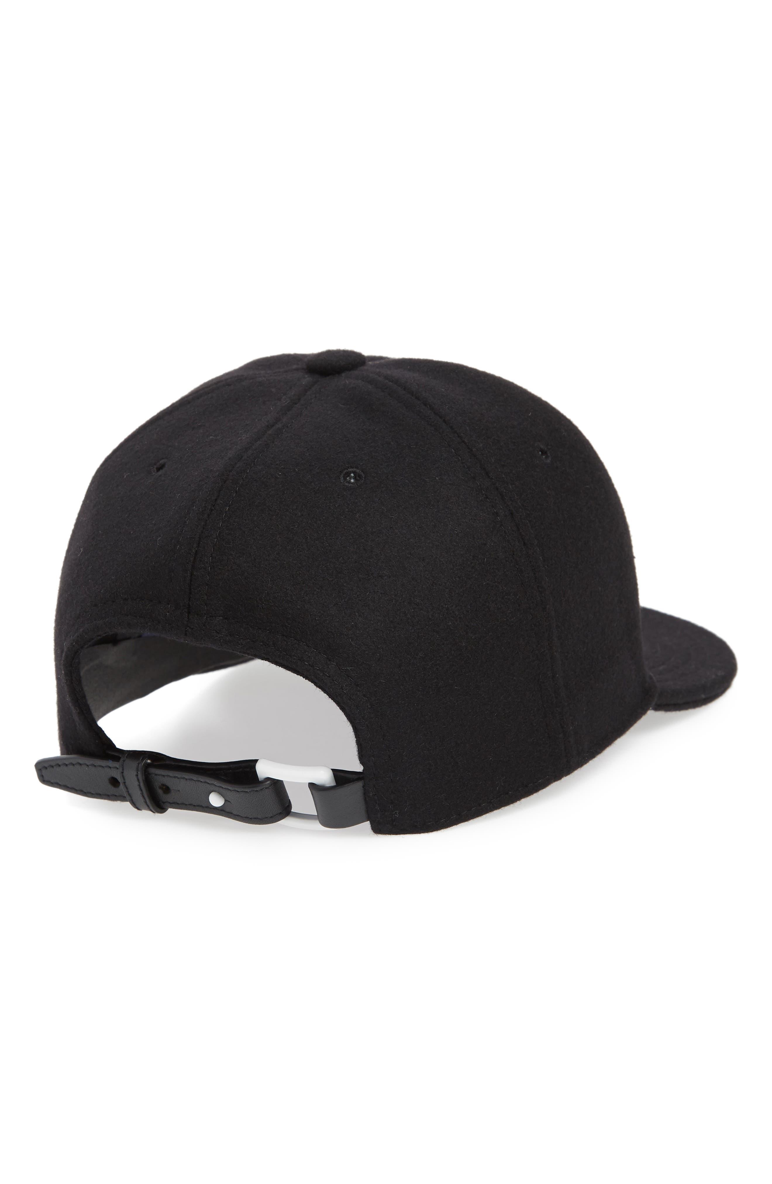 VALENTION GARAVANI VLTN Baseball Cap,                             Alternate thumbnail 2, color,                             BLACK