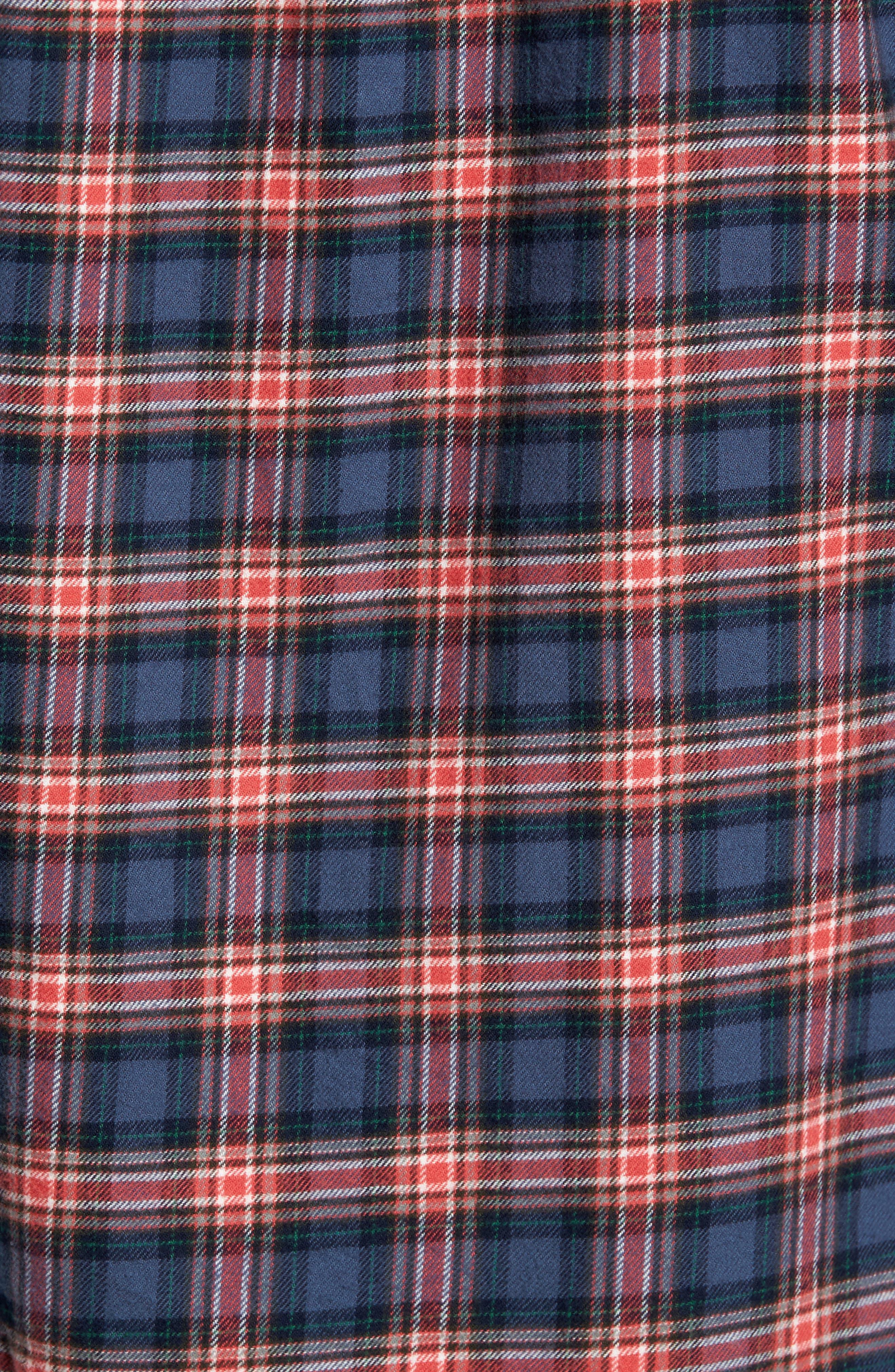 P55 Heritage Flannel Shirt,                             Alternate thumbnail 5, color,                             413