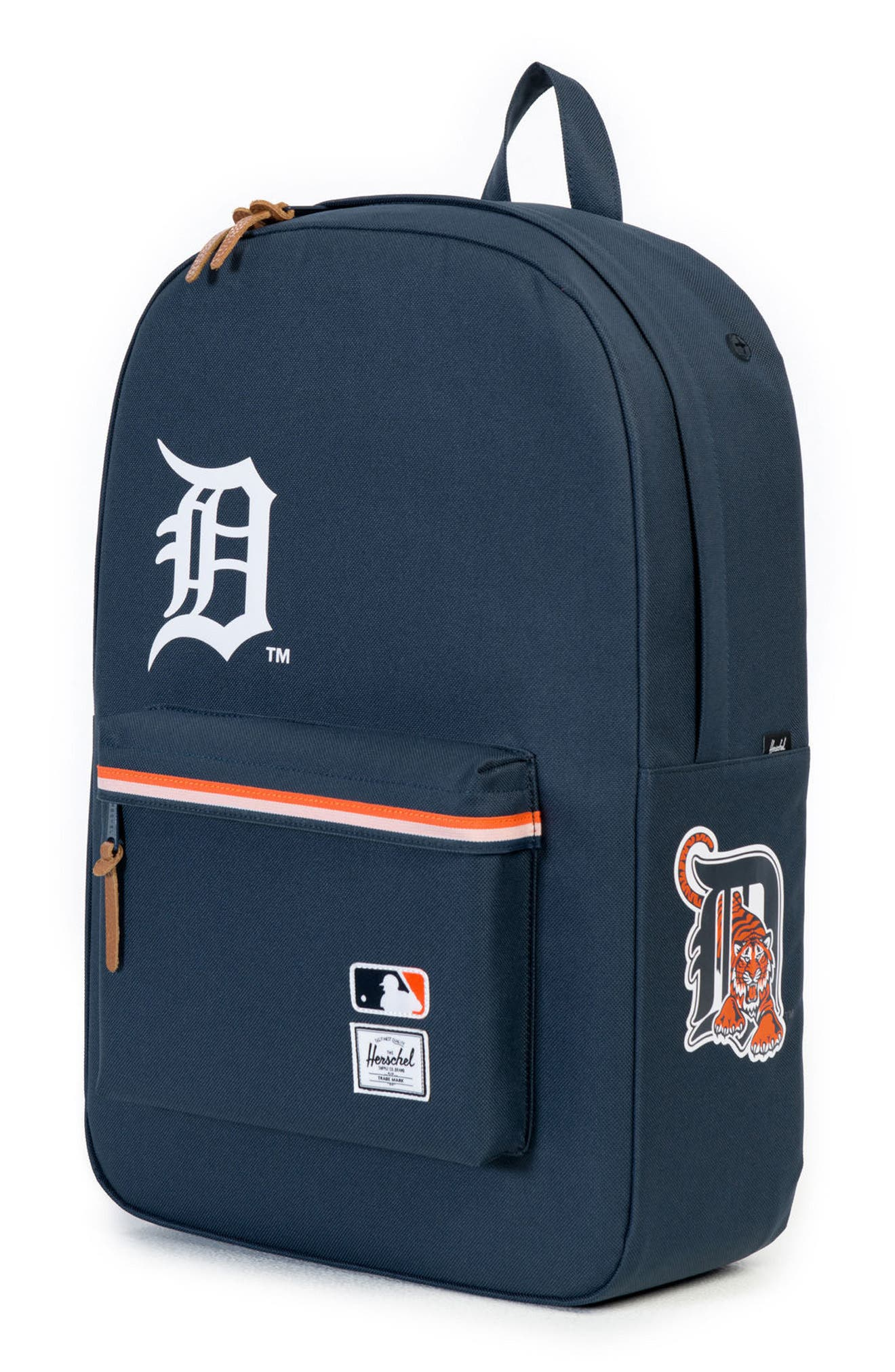 Heritage Detroit Tigers Backpack,                             Alternate thumbnail 4, color,                             499