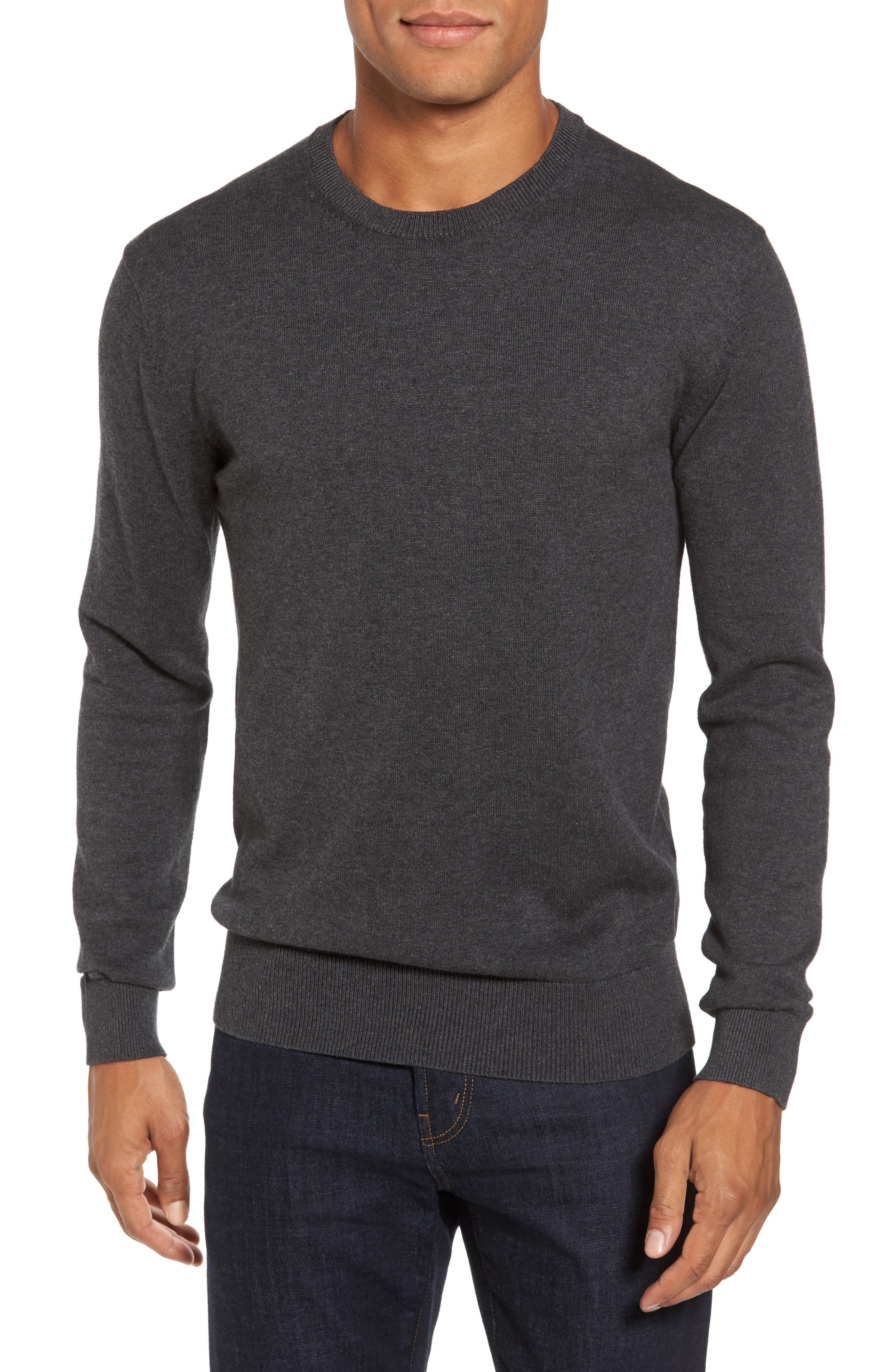 Portrait Crewneck Sweater,                             Main thumbnail 1, color,                             015