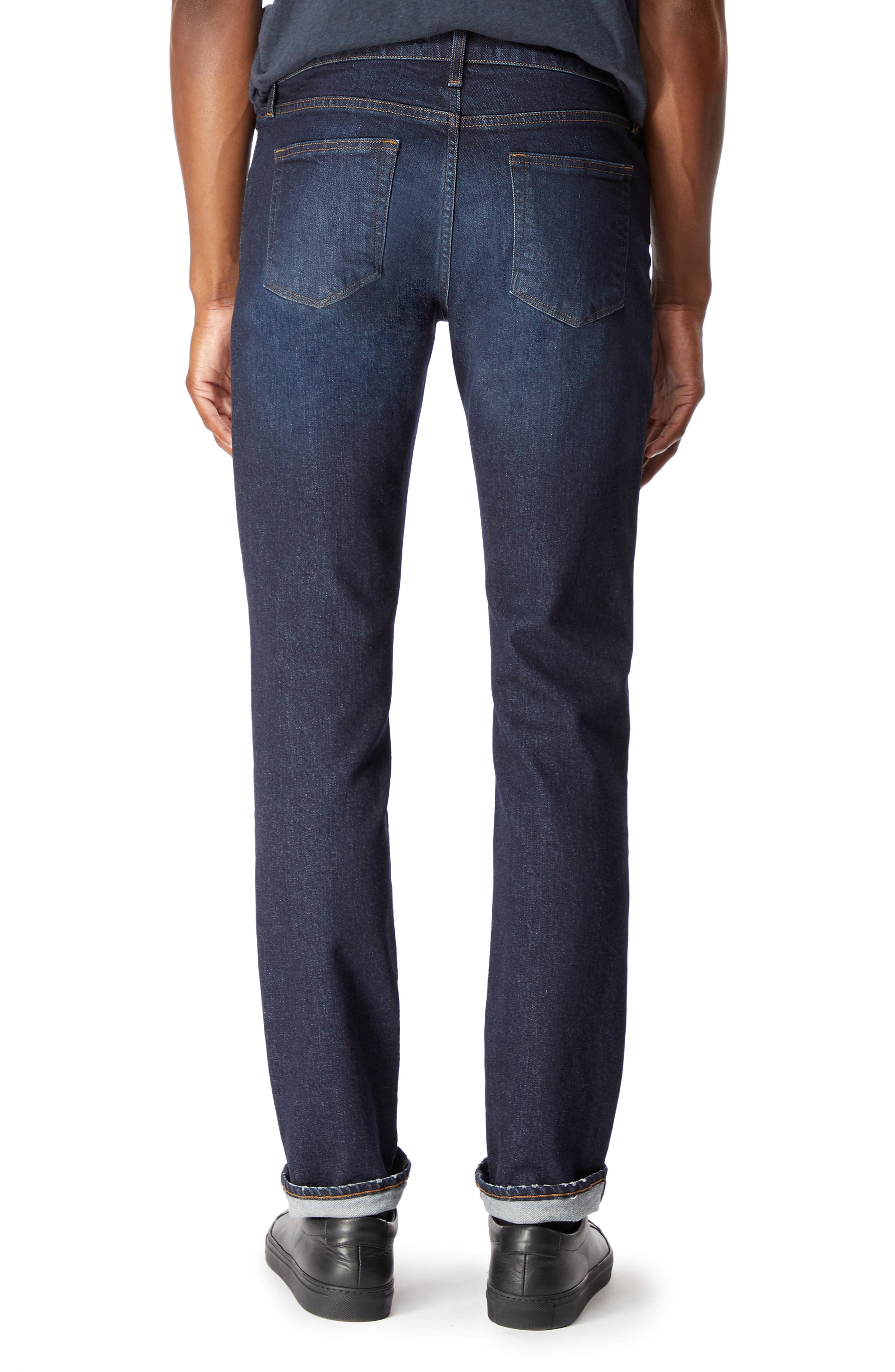 Tyler Slim Fit Jeans,                             Alternate thumbnail 2, color,                             DARK DIFFUSION