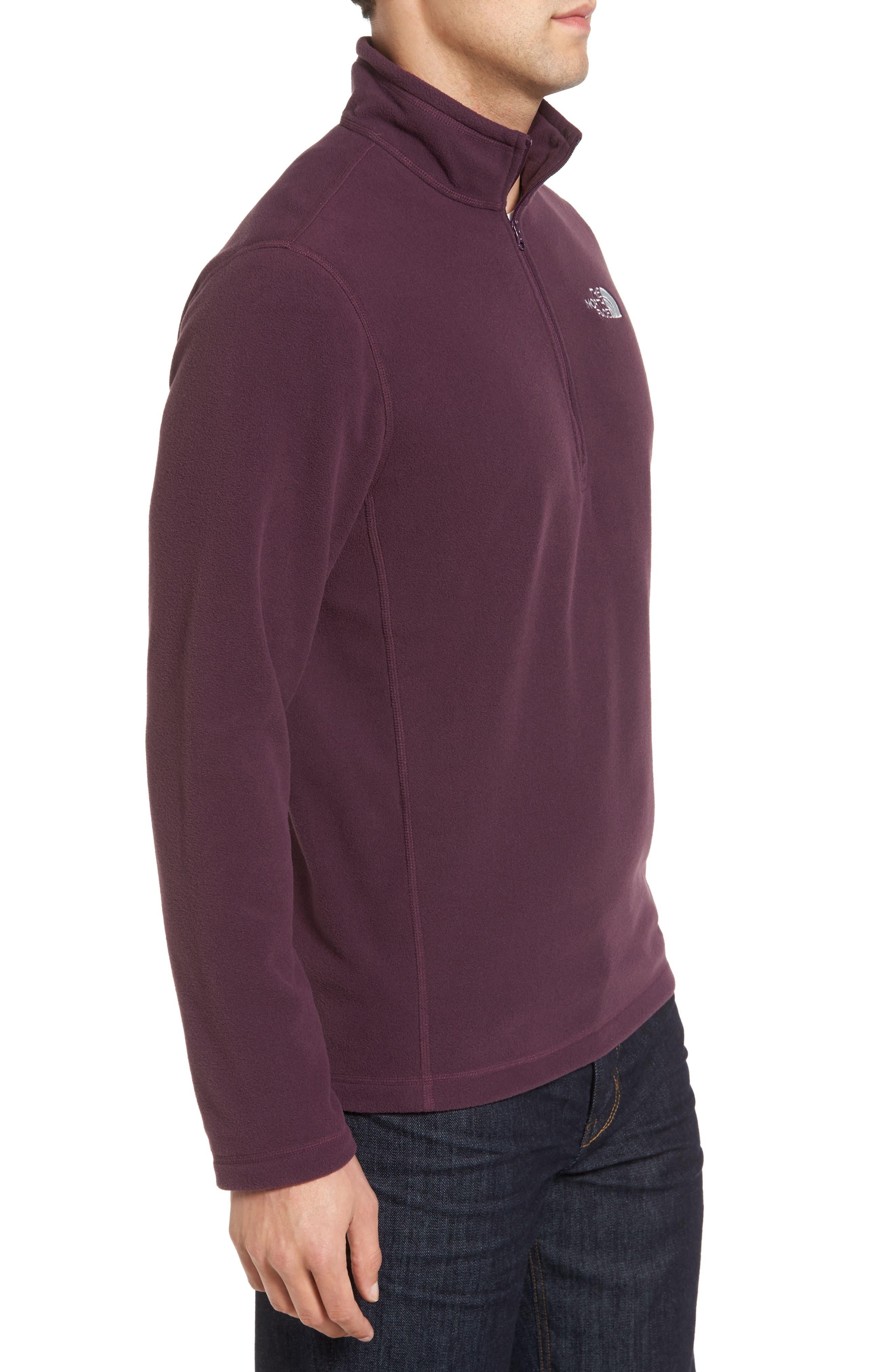 'TKA 100 Glacier' Quarter Zip Fleece Pullover,                             Alternate thumbnail 130, color,