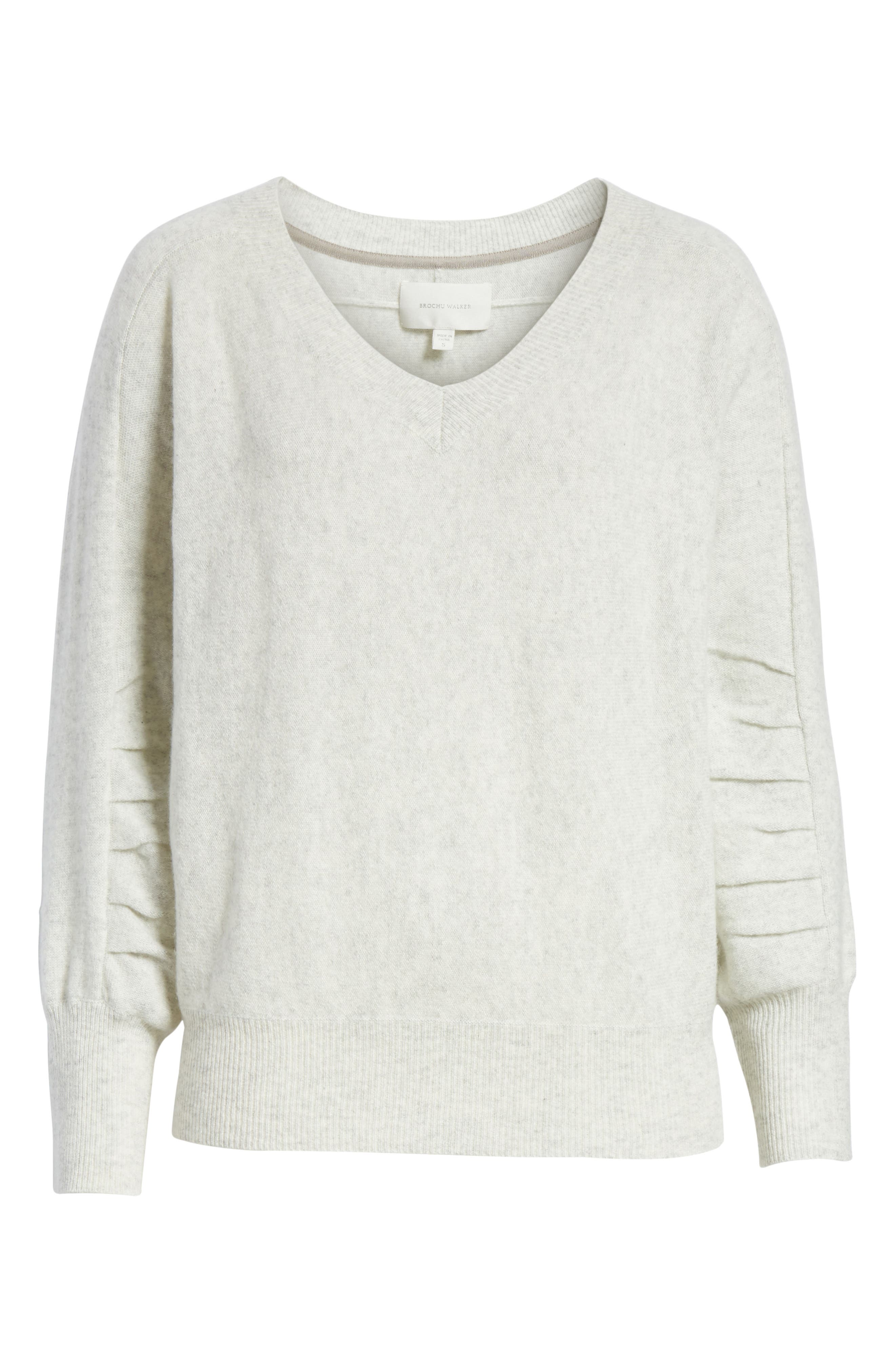 Weller Cashmere Sweater,                             Alternate thumbnail 11, color,