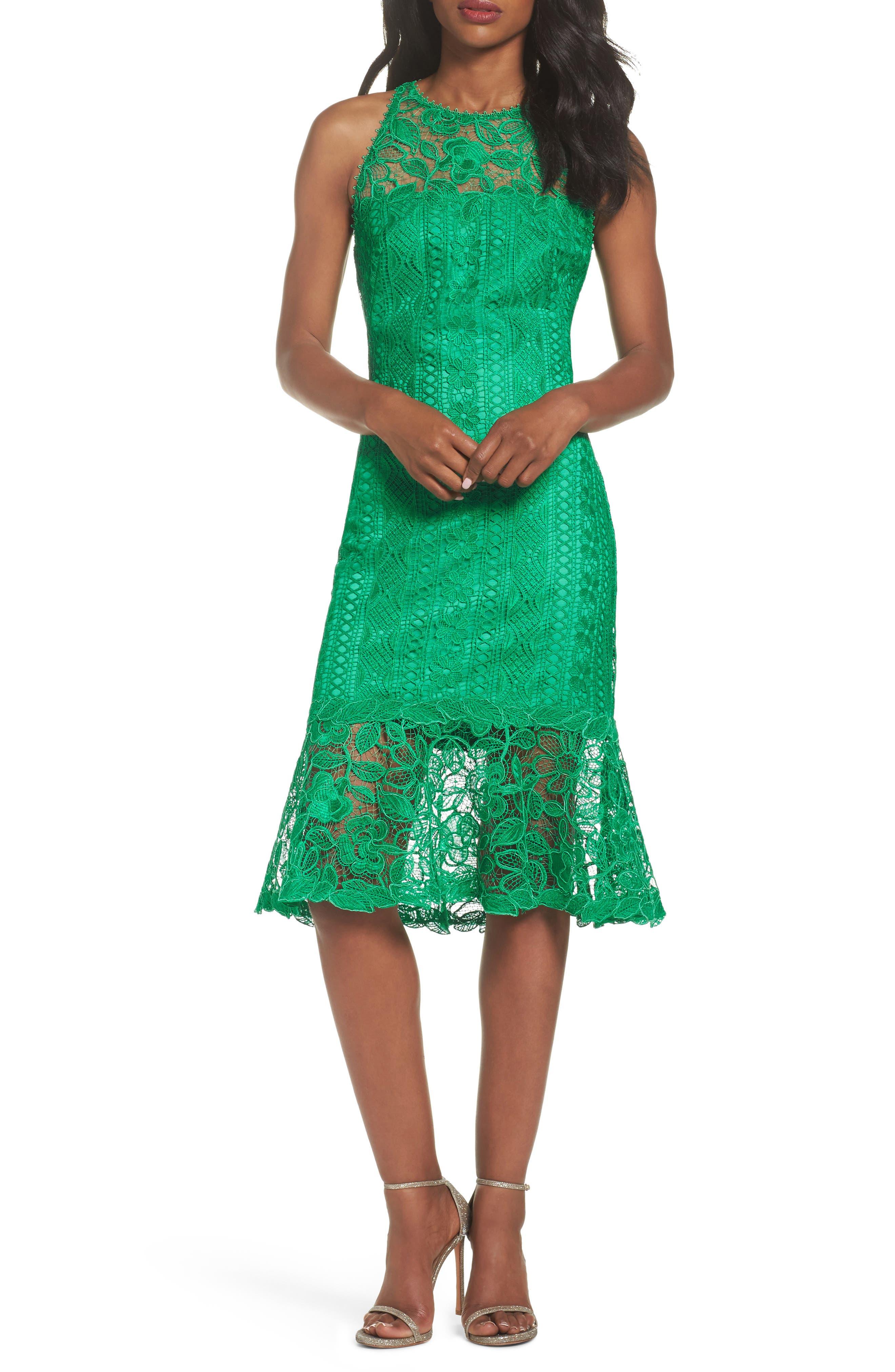 Lace Shift Dress,                             Main thumbnail 1, color,                             346