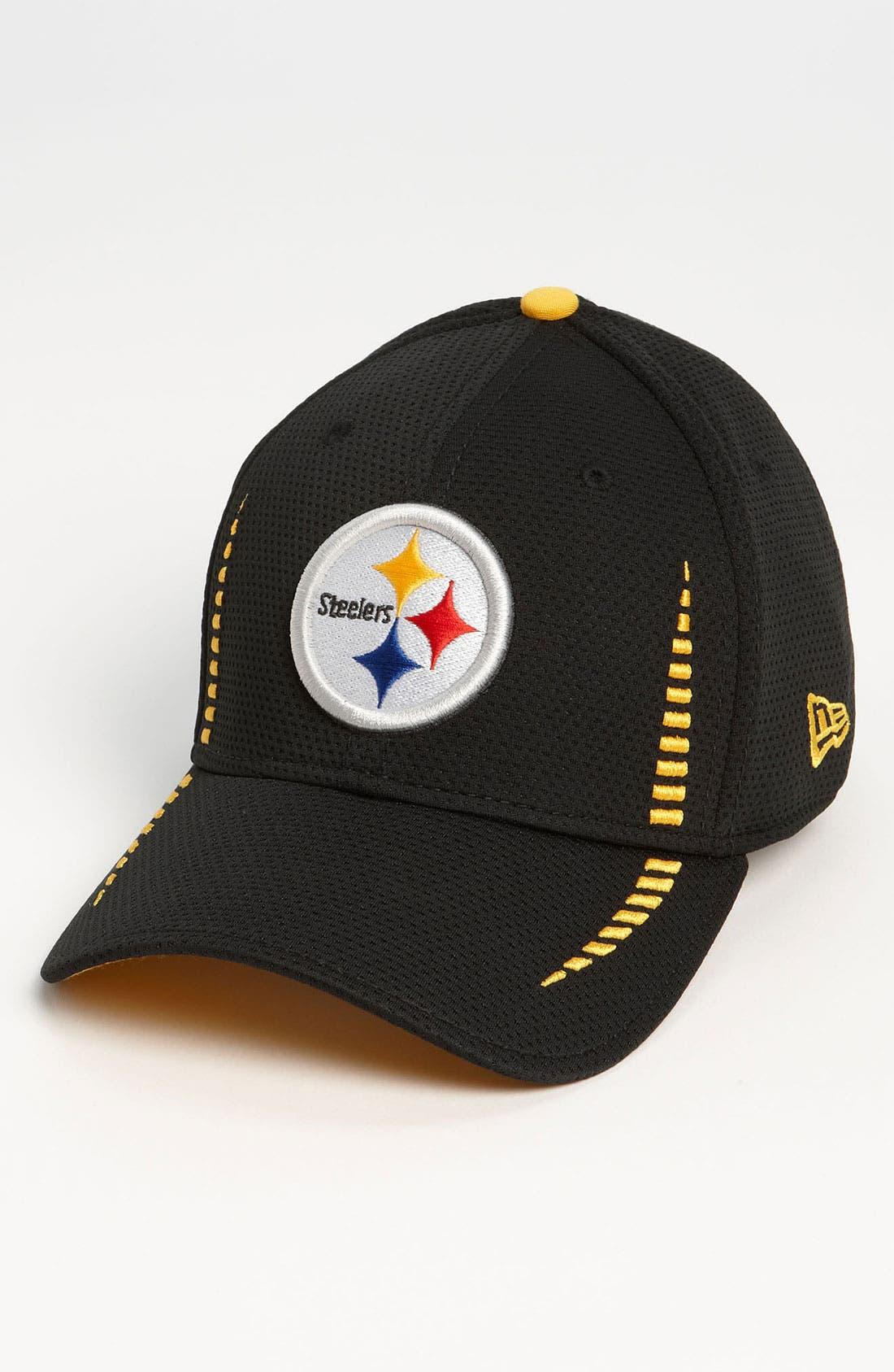 'Training Camp - Pittsburgh Steelers' Baseball Cap, Main, color, 001