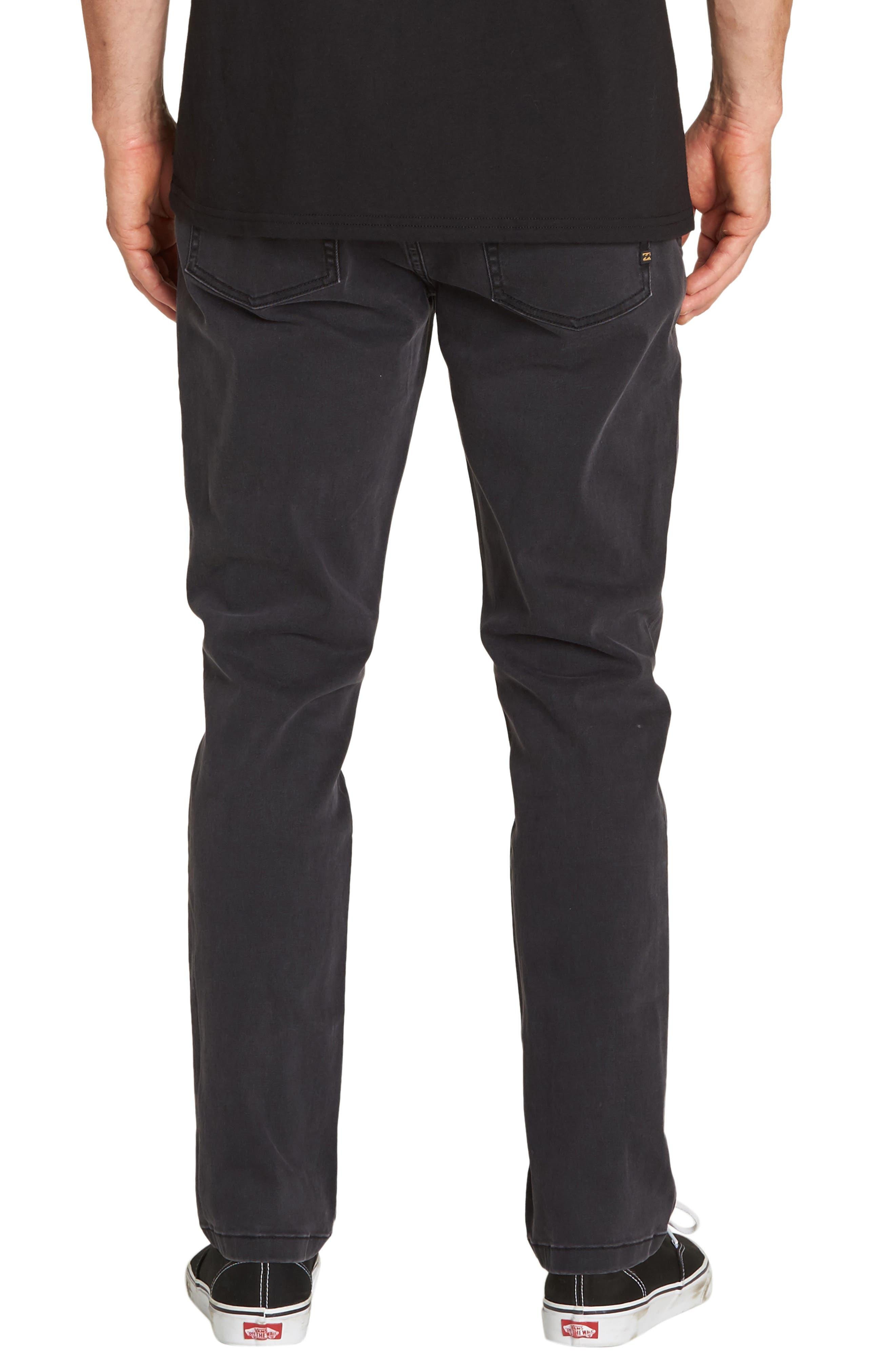 Outsider Slim Straight Jeans,                             Alternate thumbnail 2, color,                             OIL SPILL