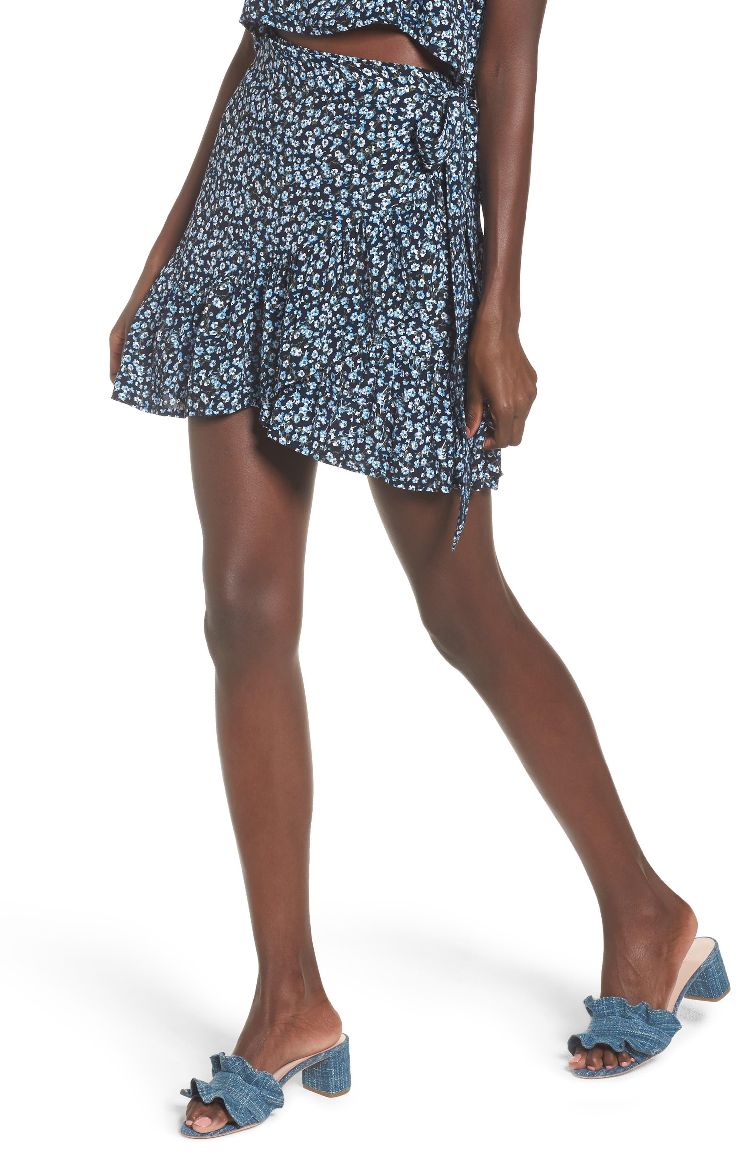 Gilda Floral Skirt,                             Main thumbnail 1, color,