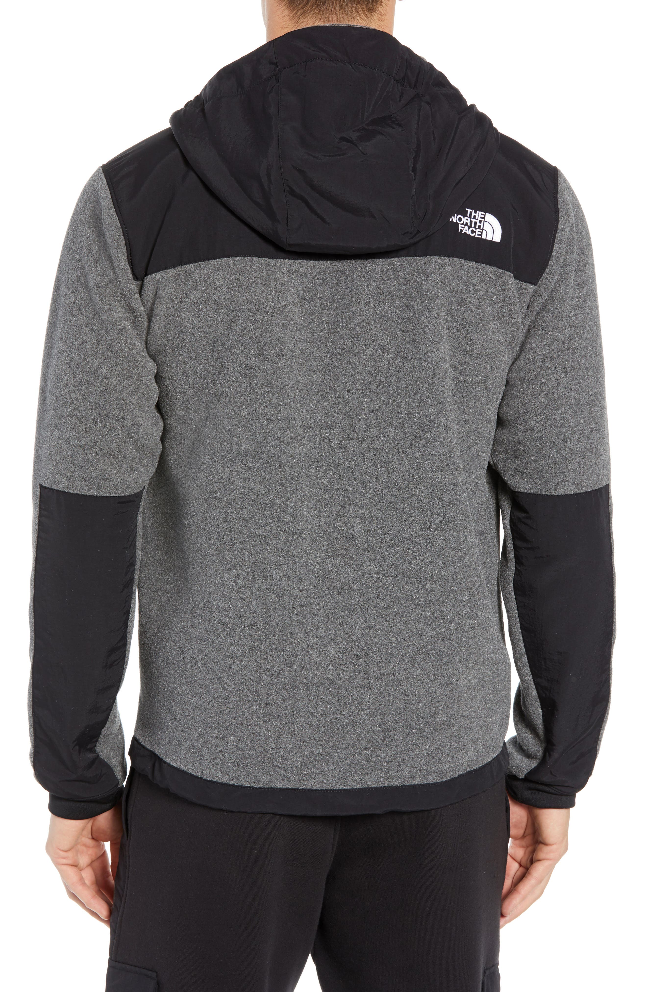 Denali 2 Hooded Jacket,                             Alternate thumbnail 2, color,                             RECYCLED CHARCOAL GREY HEATHER