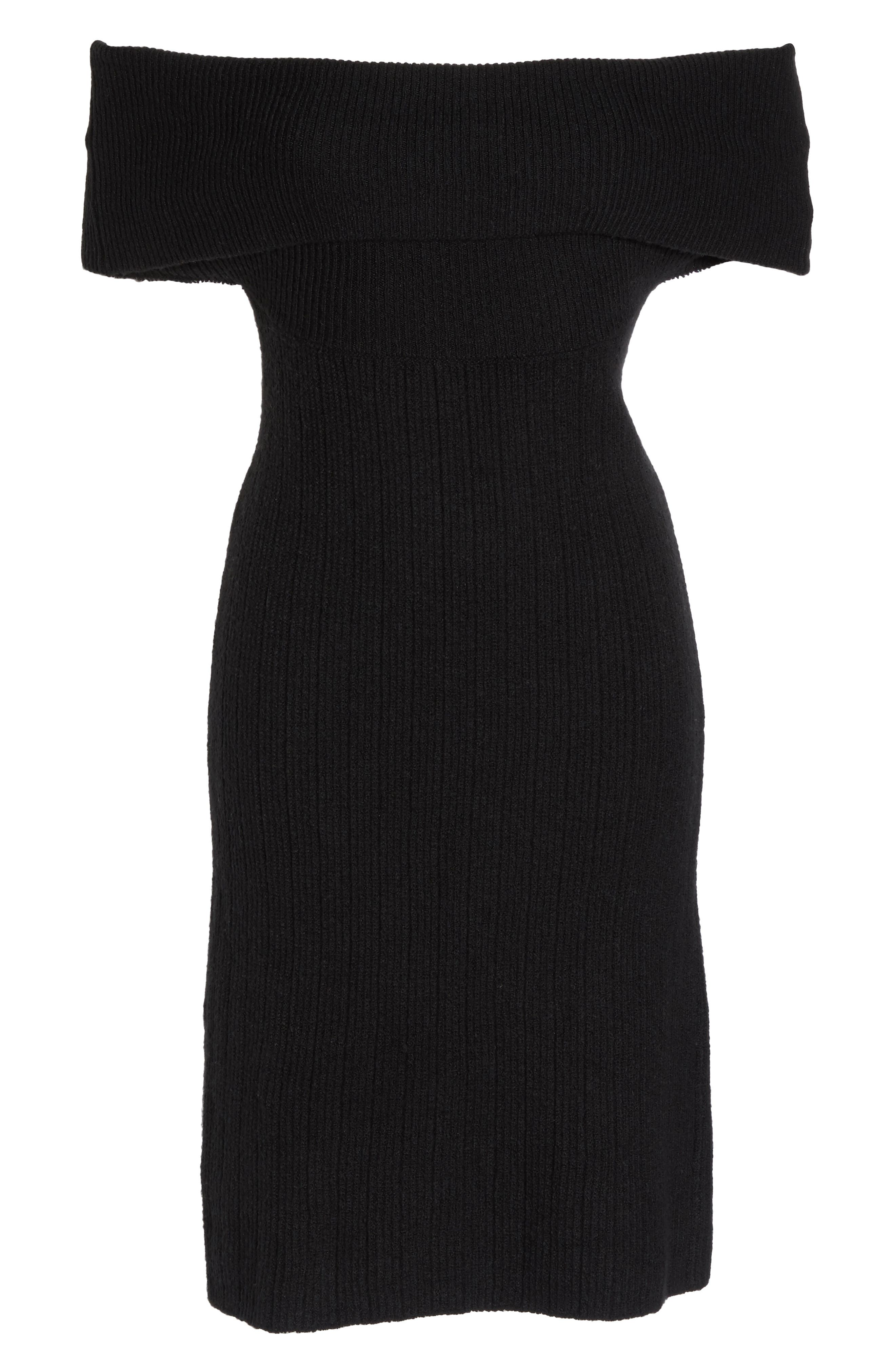 Porter Off the Shoulder Sheath Dress,                             Alternate thumbnail 11, color,