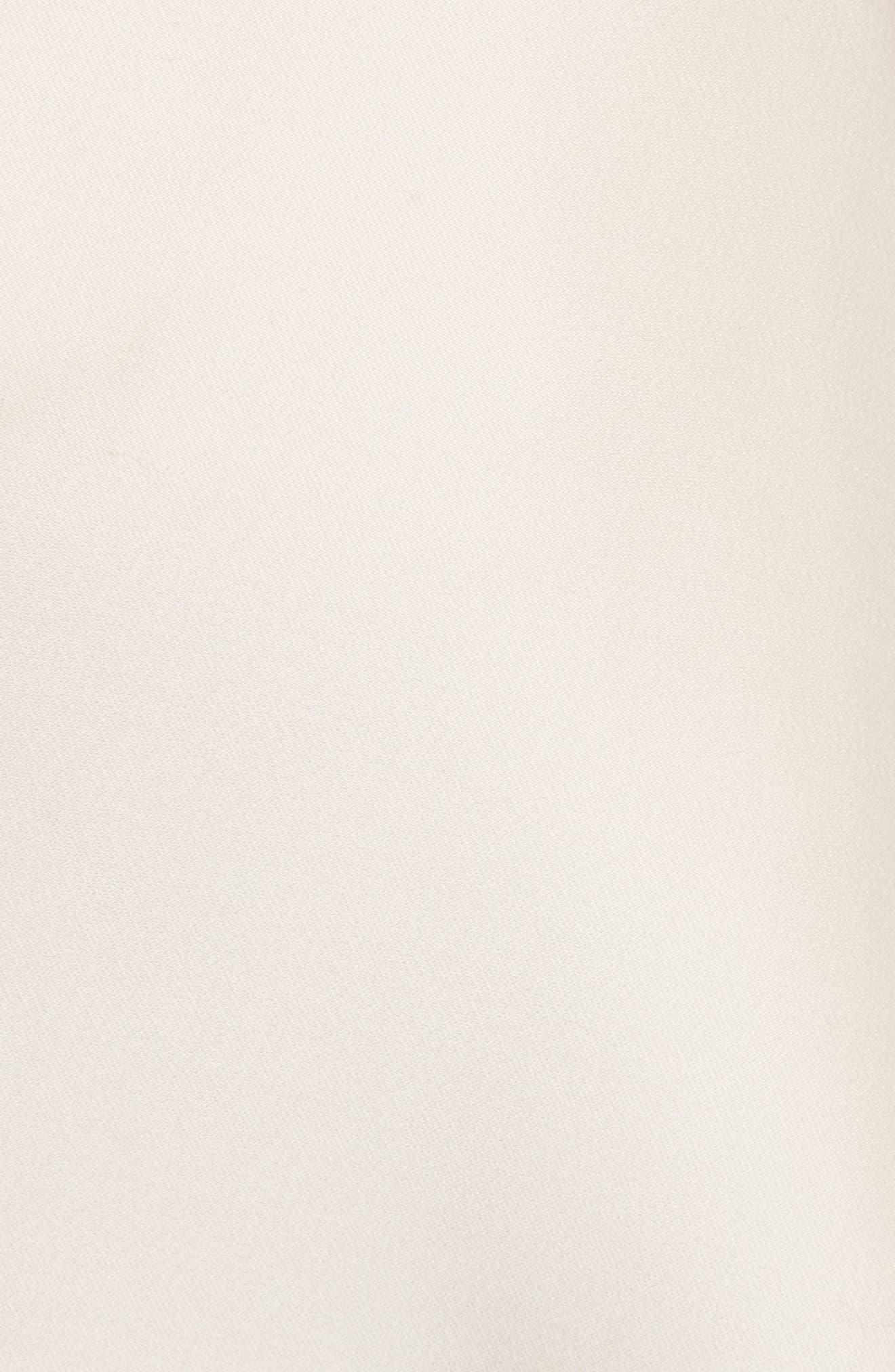 Duncan Strapless High/Low Peplum Top,                             Alternate thumbnail 5, color,