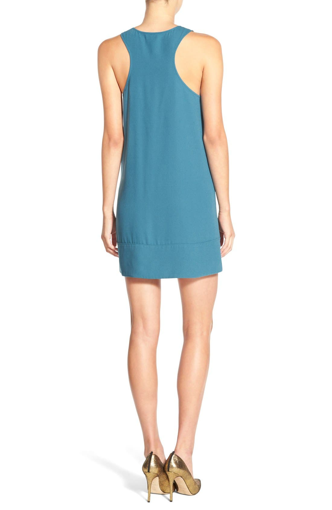 Racerback Shift Dress,                             Alternate thumbnail 71, color,