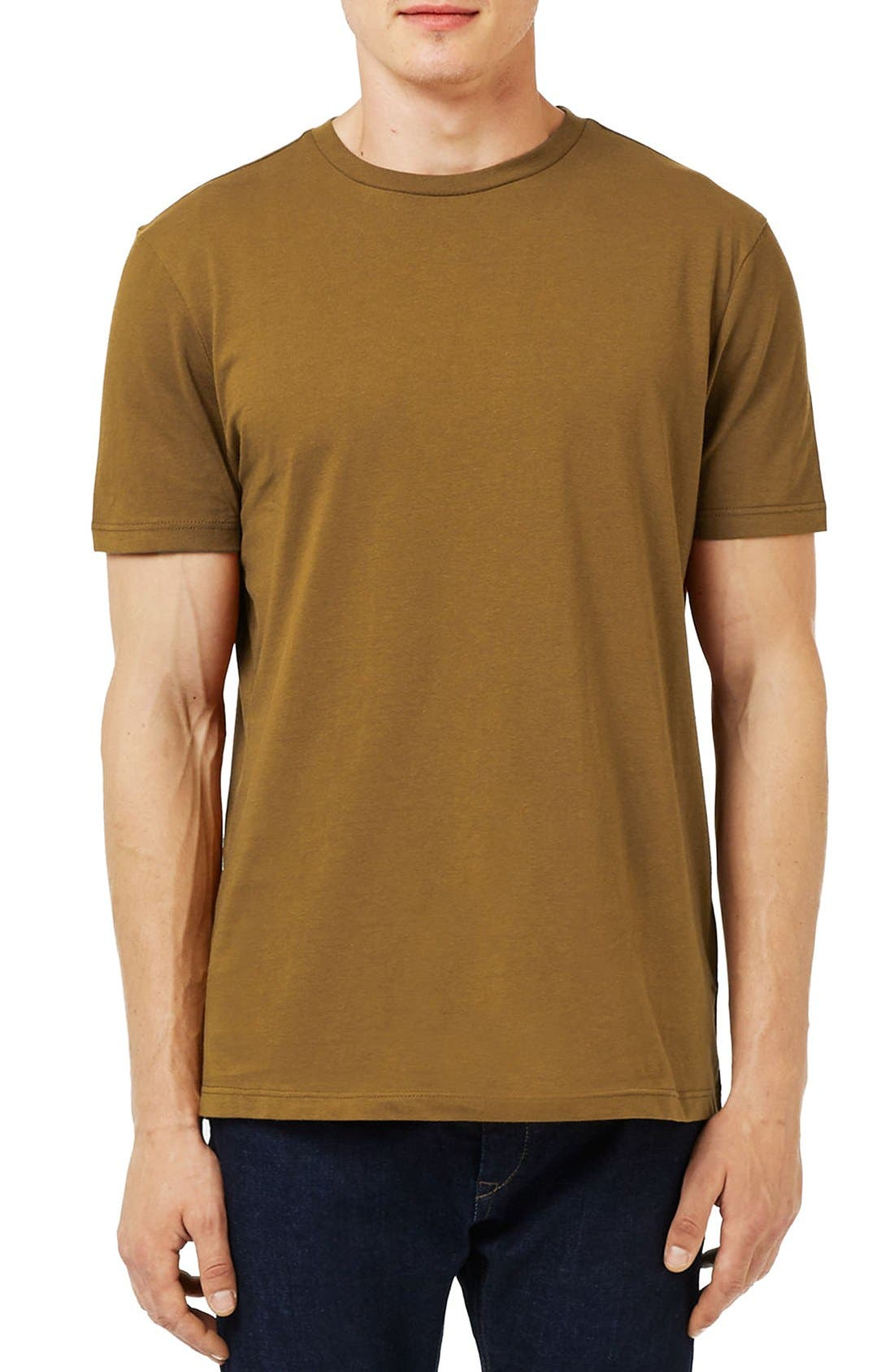 Slim Fit Crewneck T-Shirt,                             Main thumbnail 43, color,