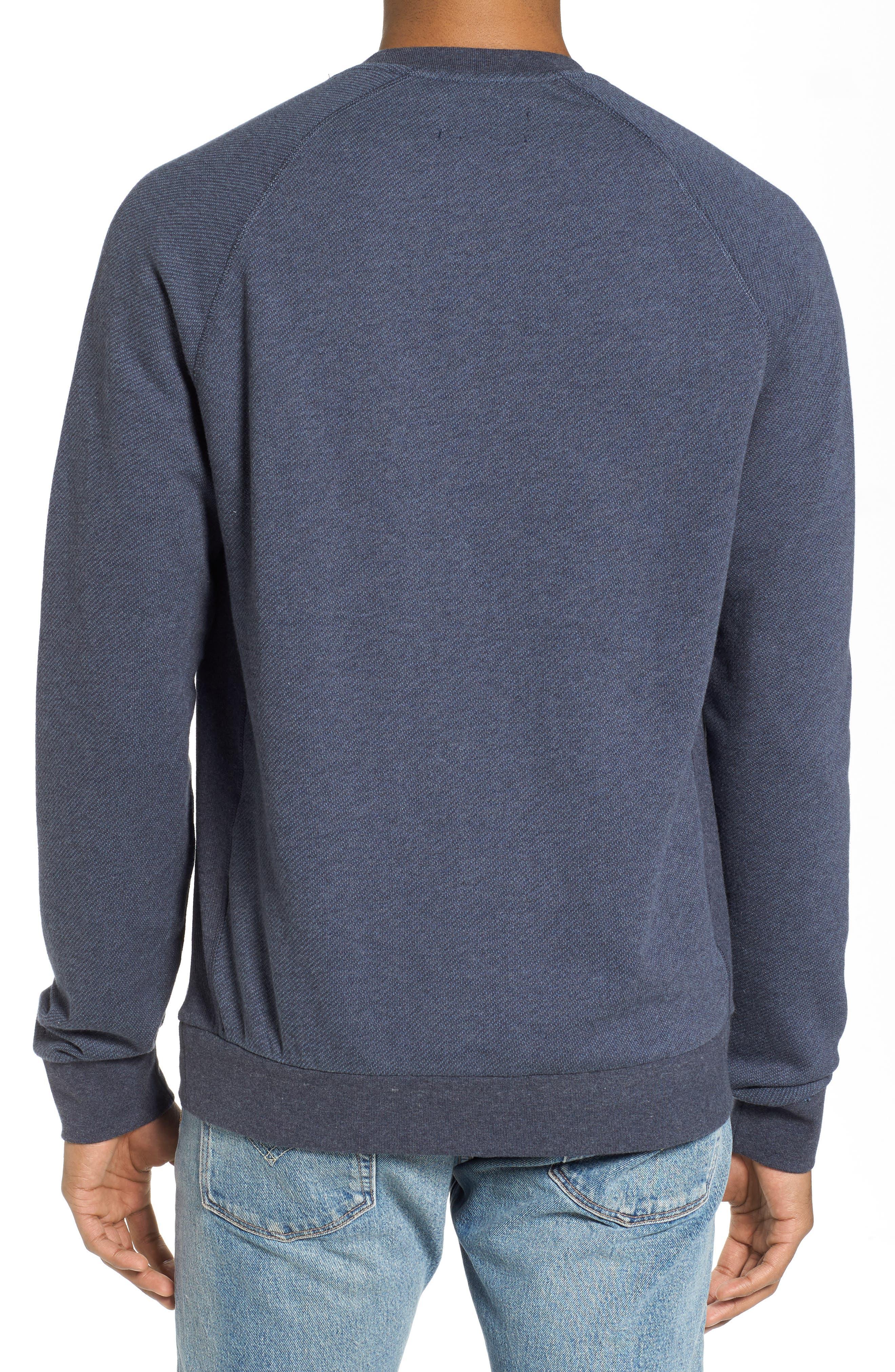 Bouclé Sweatshirt,                             Alternate thumbnail 2, color,