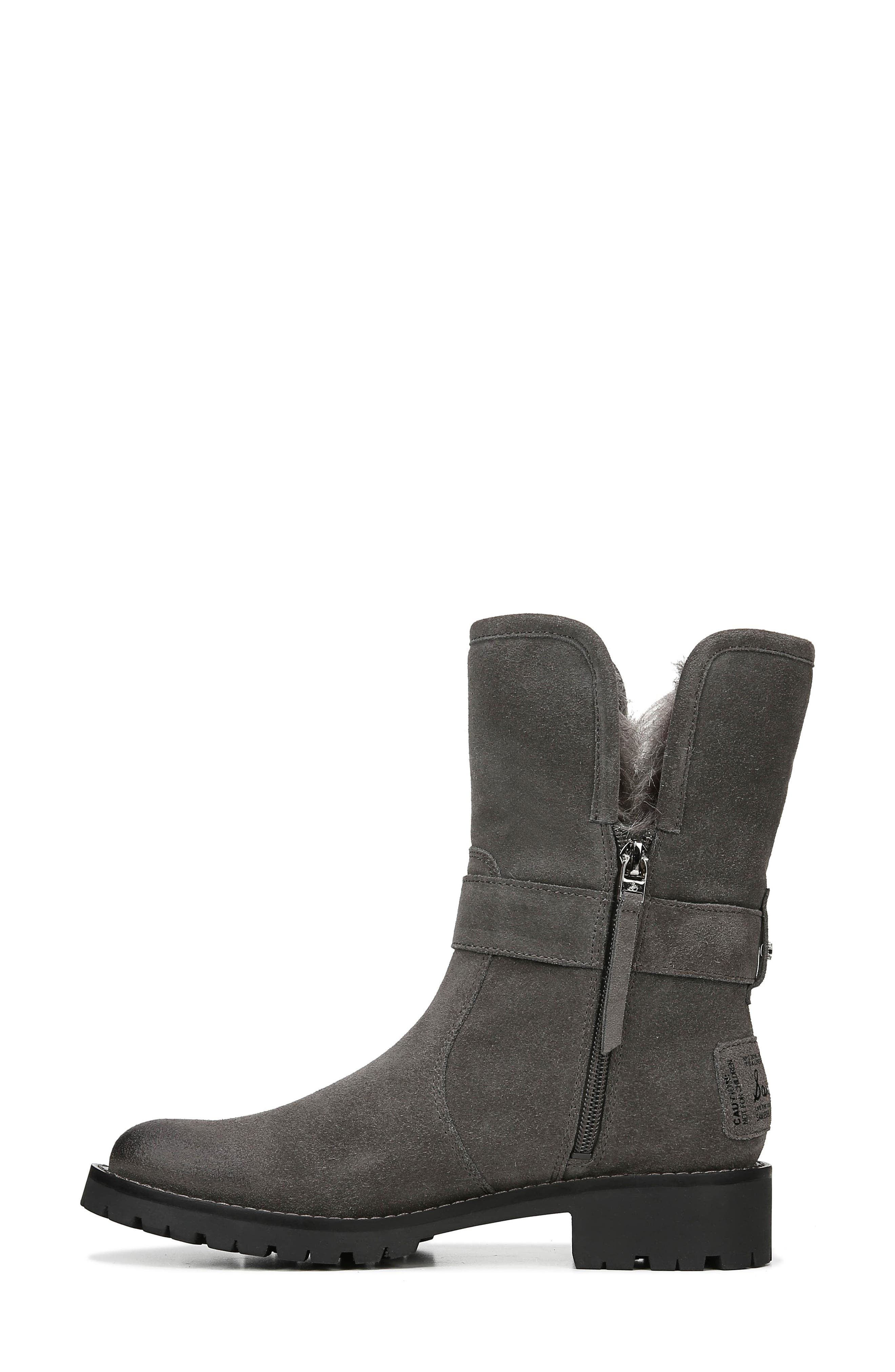 Jeanie Boot,                             Alternate thumbnail 8, color,                             STEEL GREY SUEDE