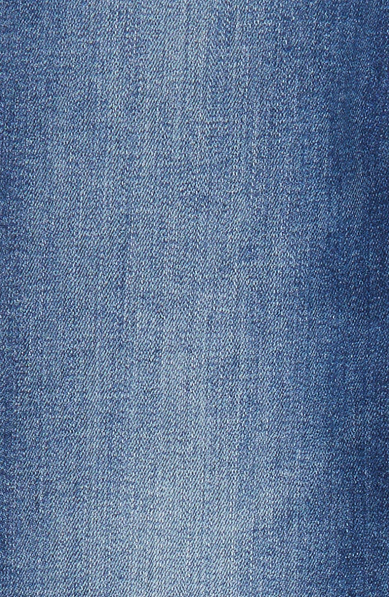 The Kate Slim Straight Leg Jeans,                             Alternate thumbnail 3, color,
