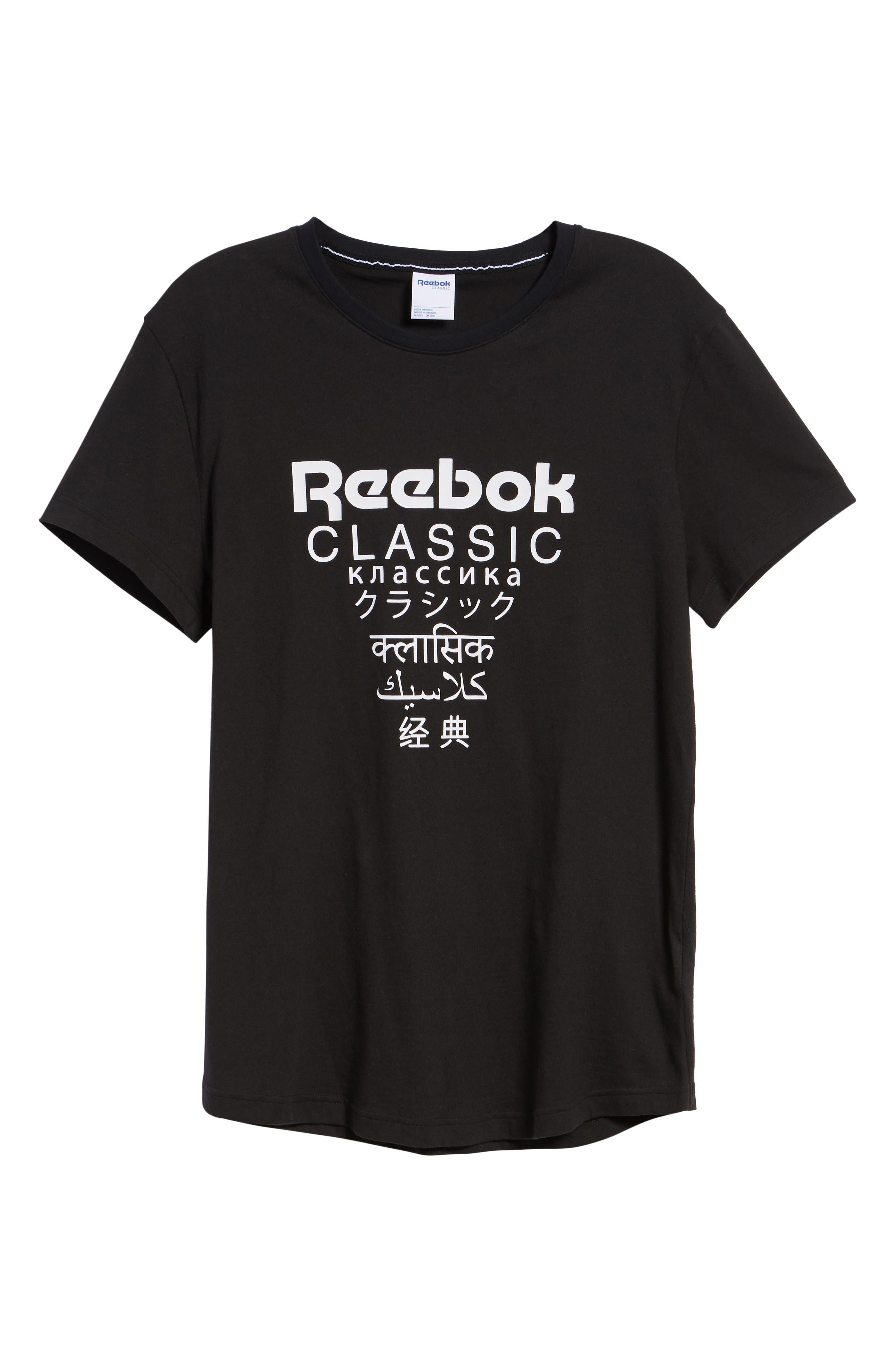 Longline Unisex T-Shirt,                             Alternate thumbnail 6, color,                             BLACK