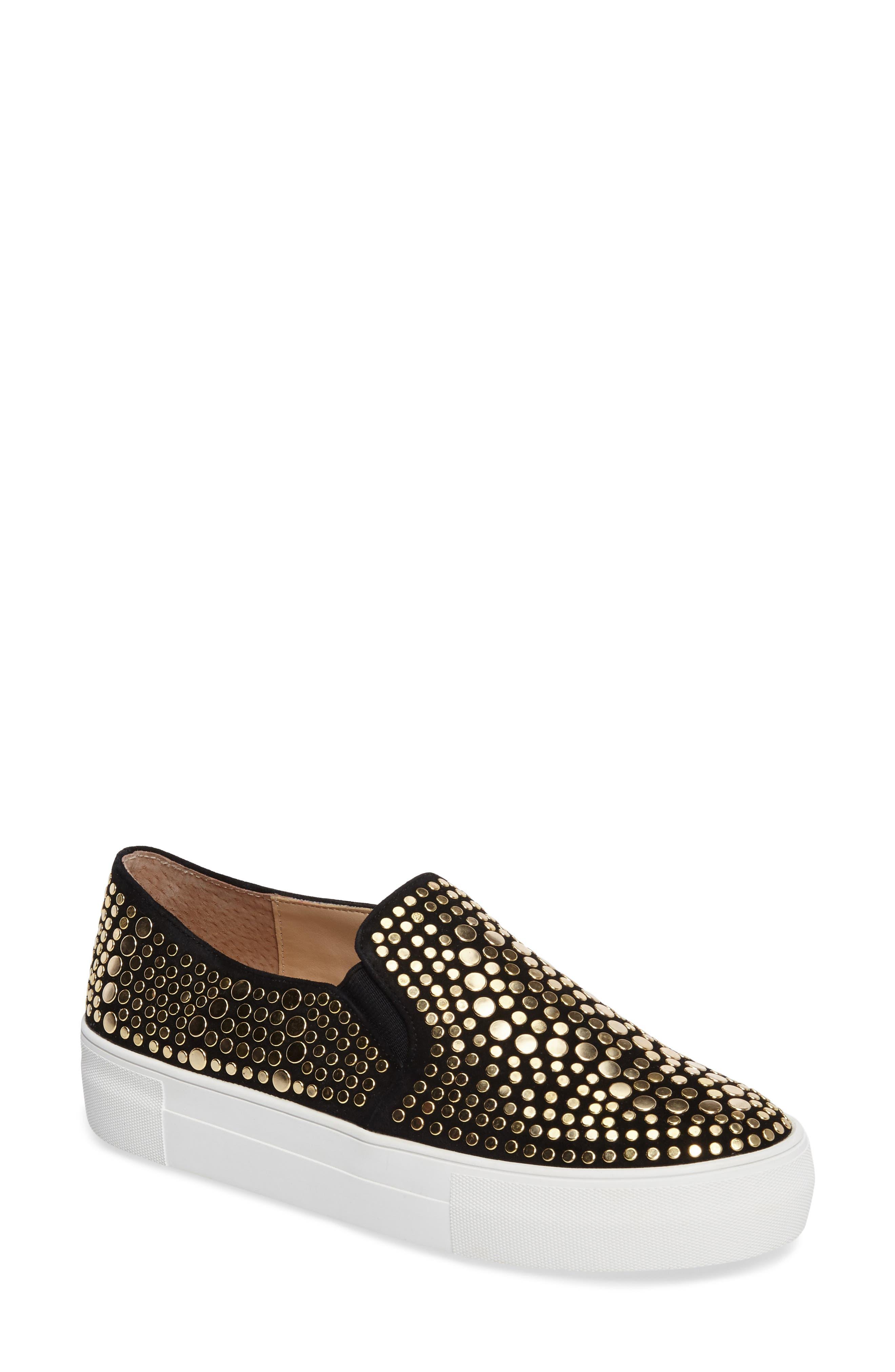 Kindra Stud Slip-On Sneaker,                         Main,                         color, 002