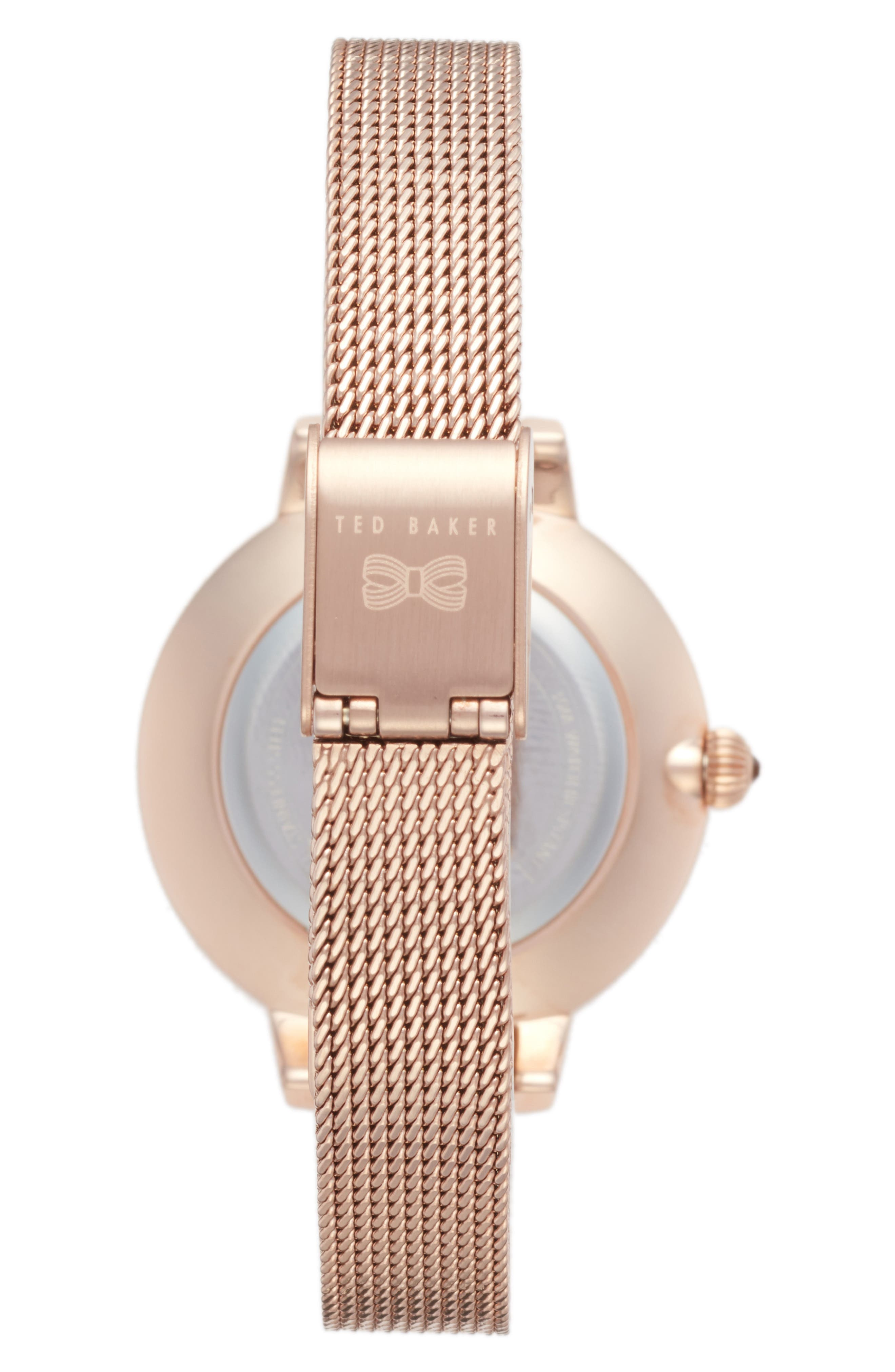 Kate Mesh Strap Watch, 36mm,                             Alternate thumbnail 5, color,