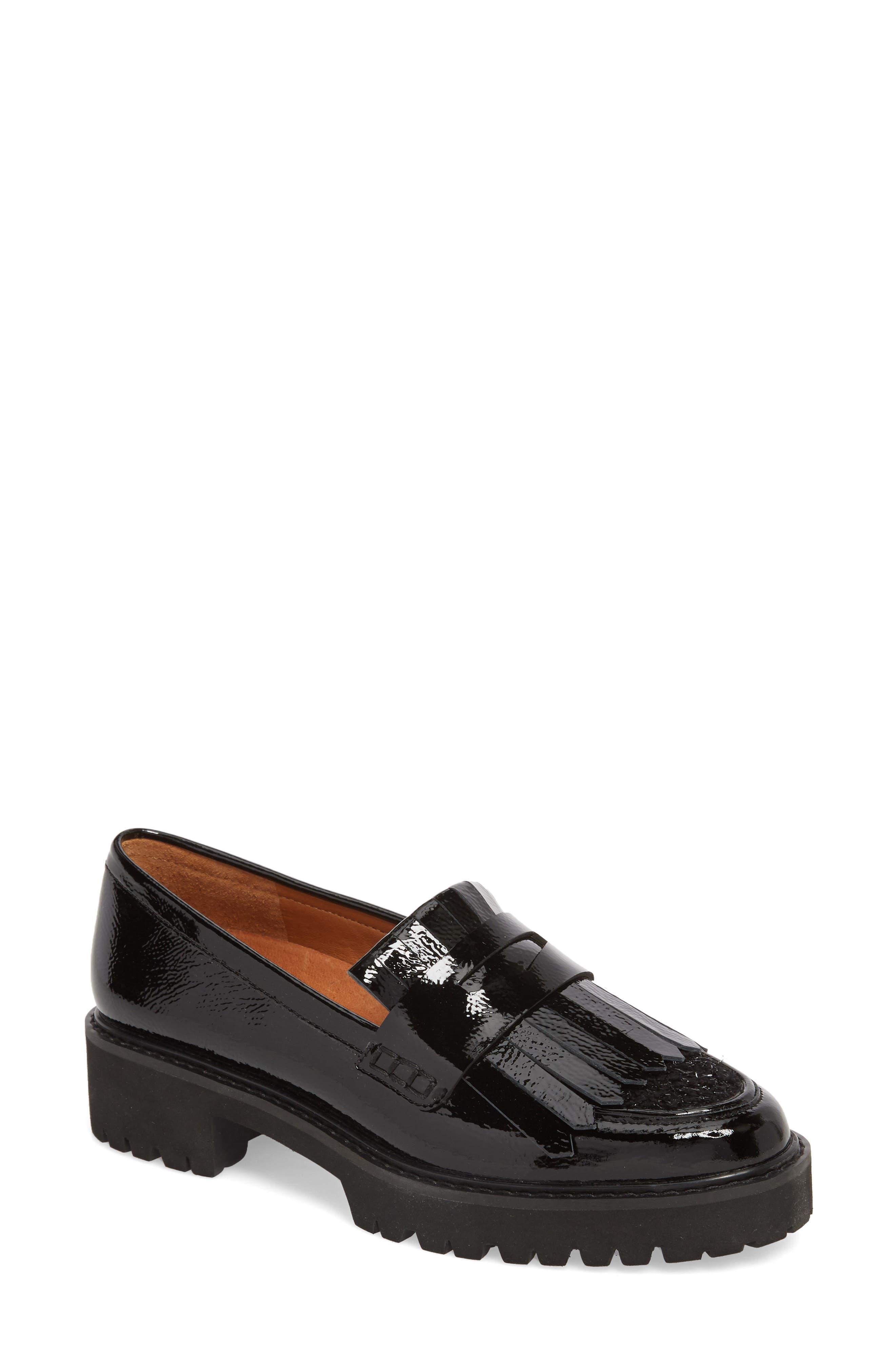 Duncan Loafer,                         Main,                         color, BLACK CRINKLE PATENT