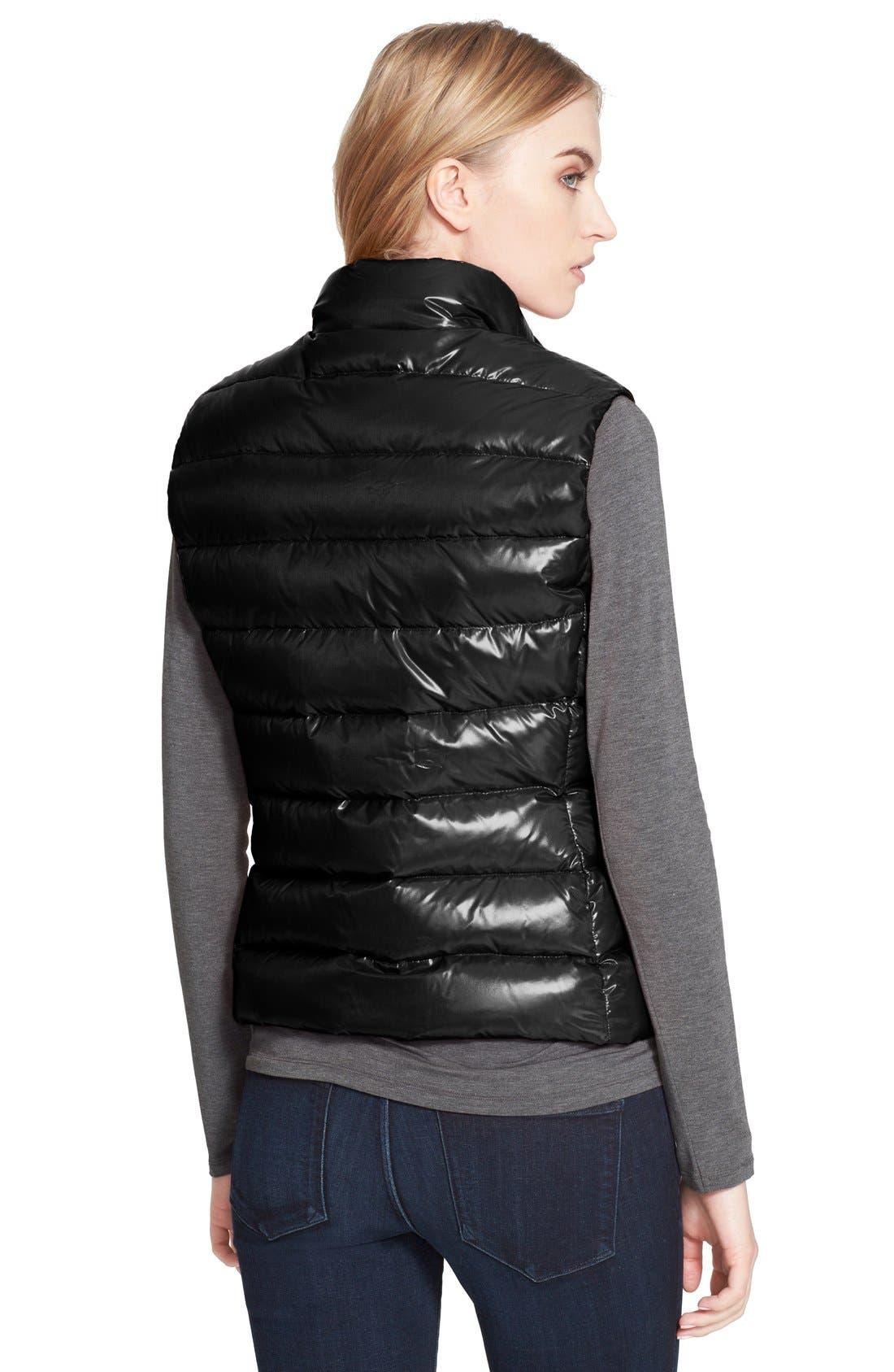 'Ghany' Down Puffer Vest,                             Alternate thumbnail 3, color,                             001