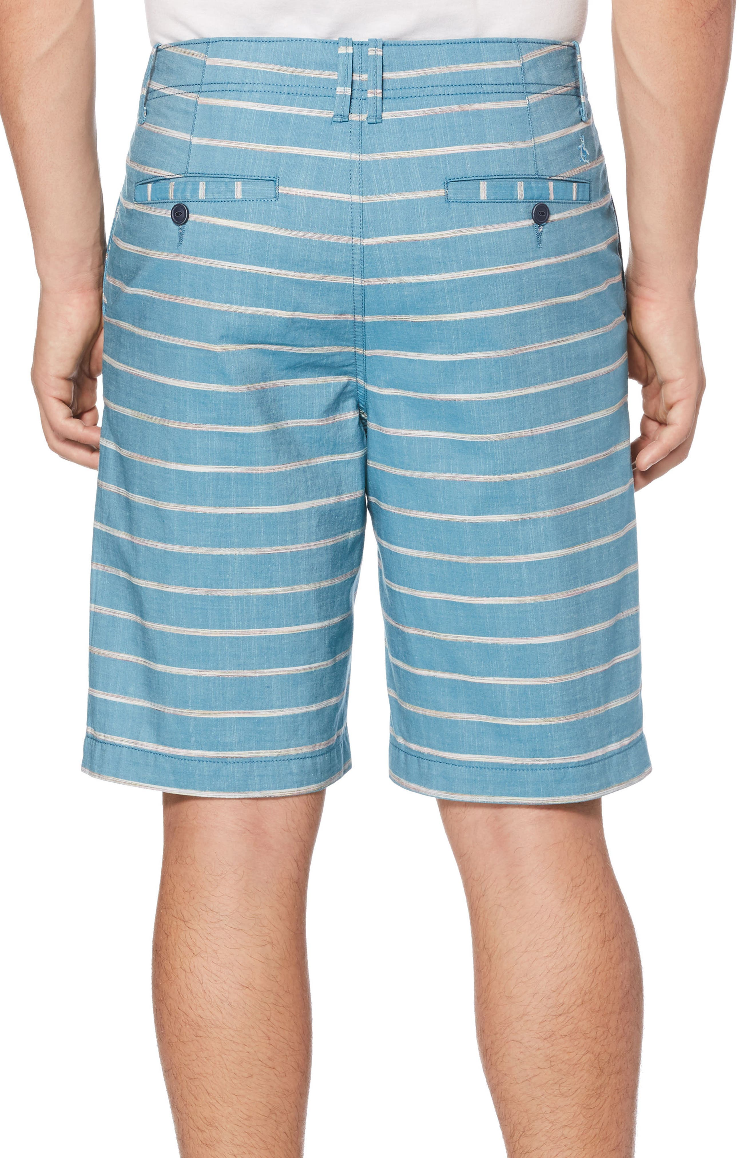 P55 Stripe Shorts,                             Alternate thumbnail 2, color,                             413